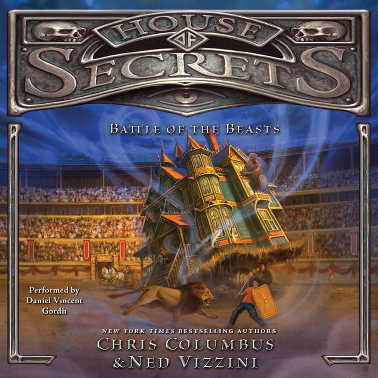 Printable House of Secrets: Battle of the Beasts Audiobook Cover Art
