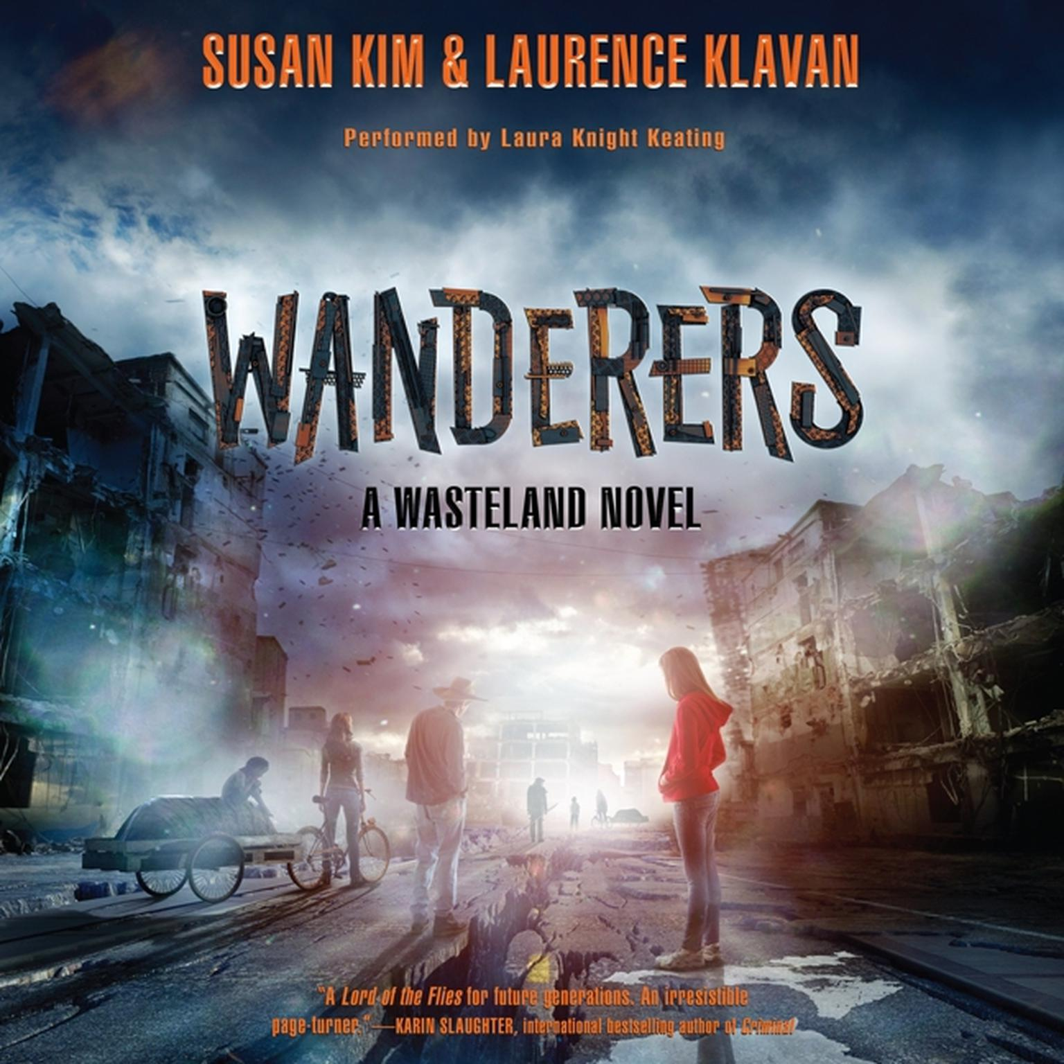 Printable Wanderers: A Wasteland Novel Audiobook Cover Art