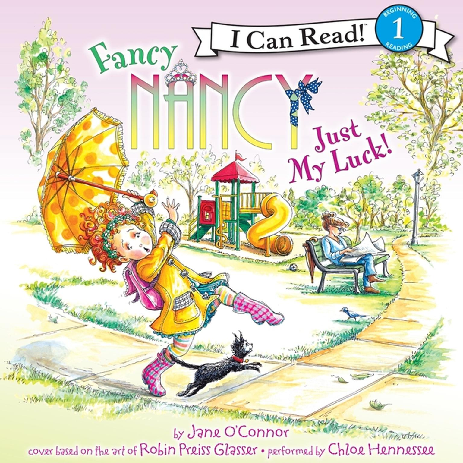 Printable Fancy Nancy: Just My Luck! Audiobook Cover Art