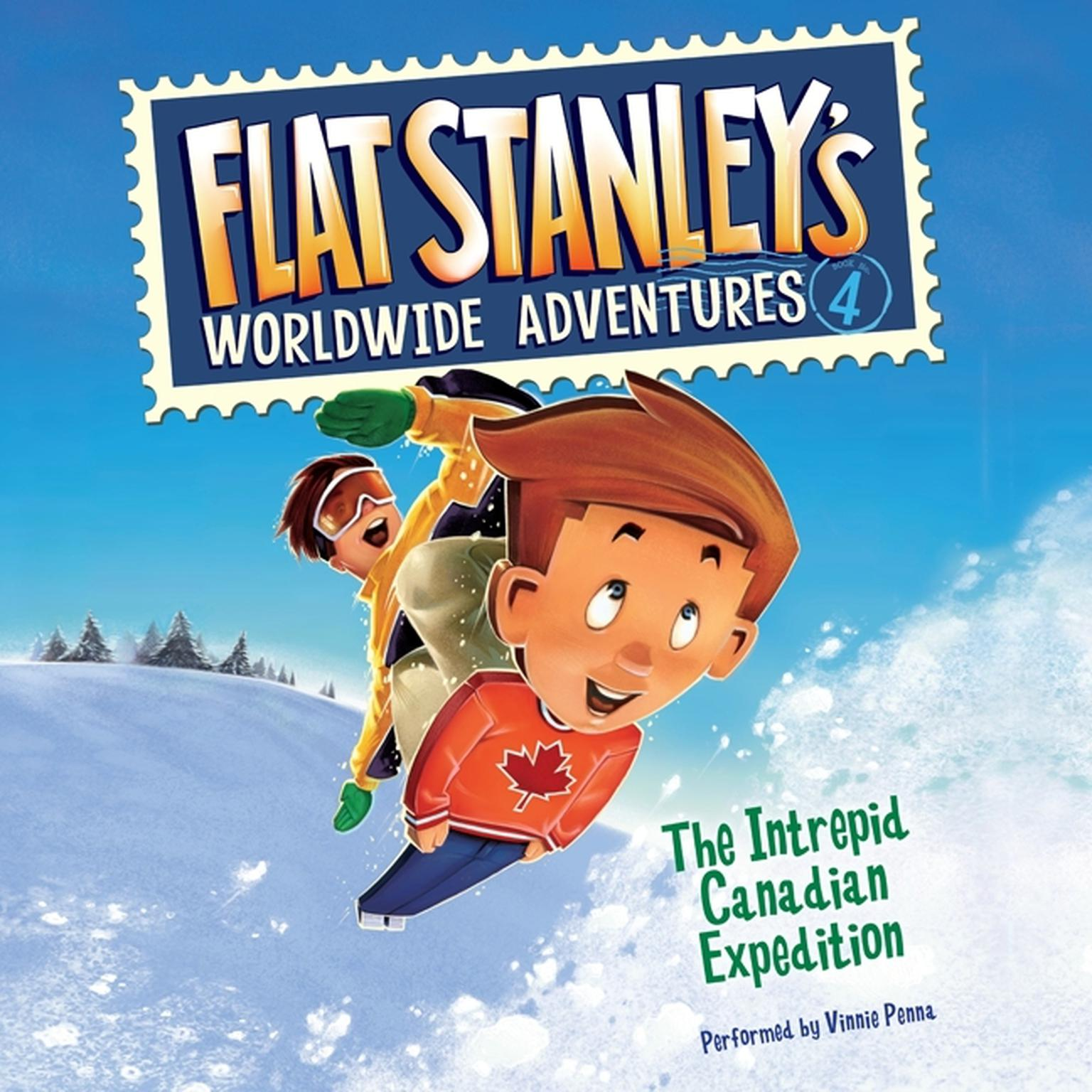Printable Flat Stanley's Worldwide Adventures #4: The Intrepid Canadian Expedition UAB Audiobook Cover Art