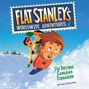 Flat Stanleys Worldwide Adventures #4: The Intrepid Canadian Expedition UAB Audiobook, by Jeff Brown