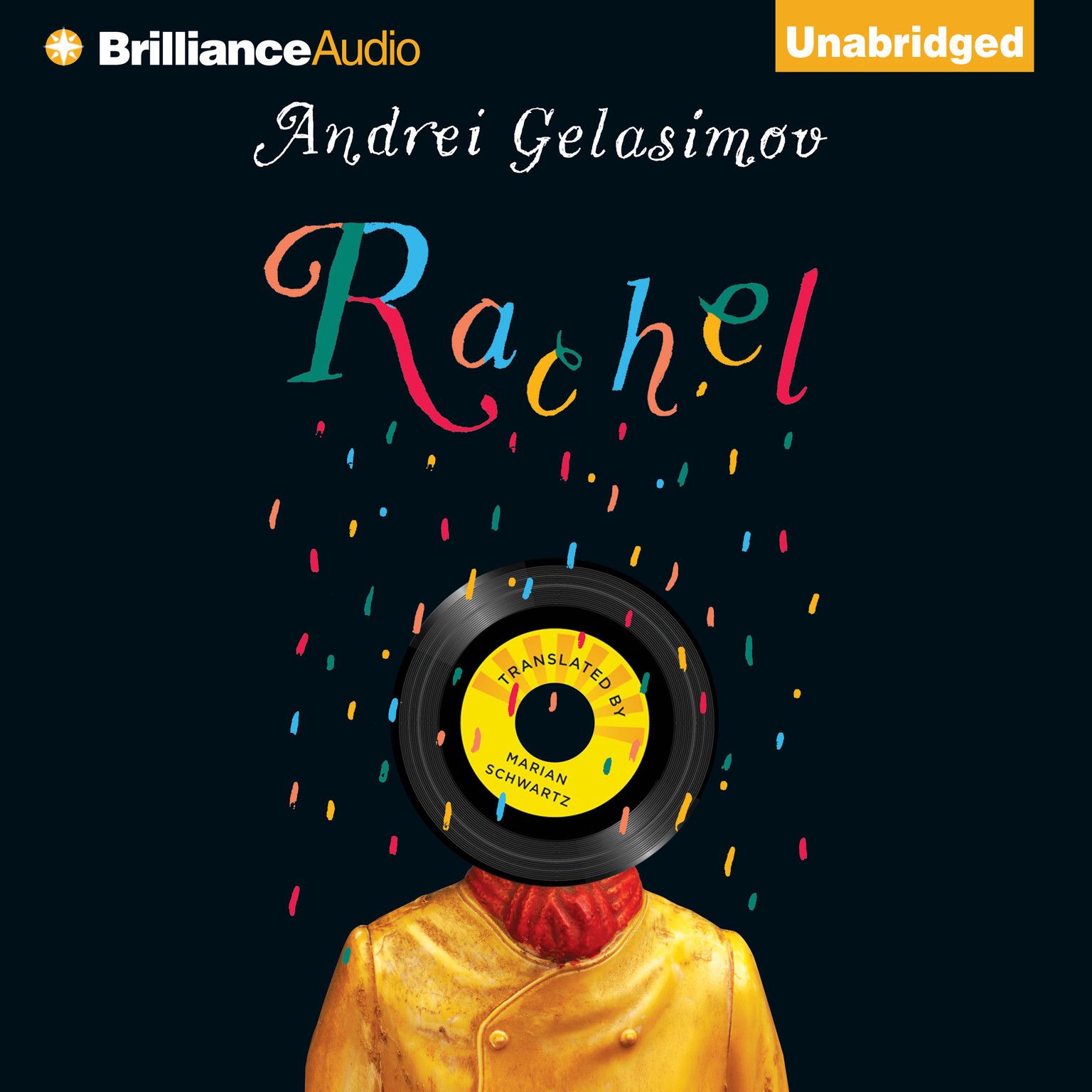 Printable Rachel Audiobook Cover Art