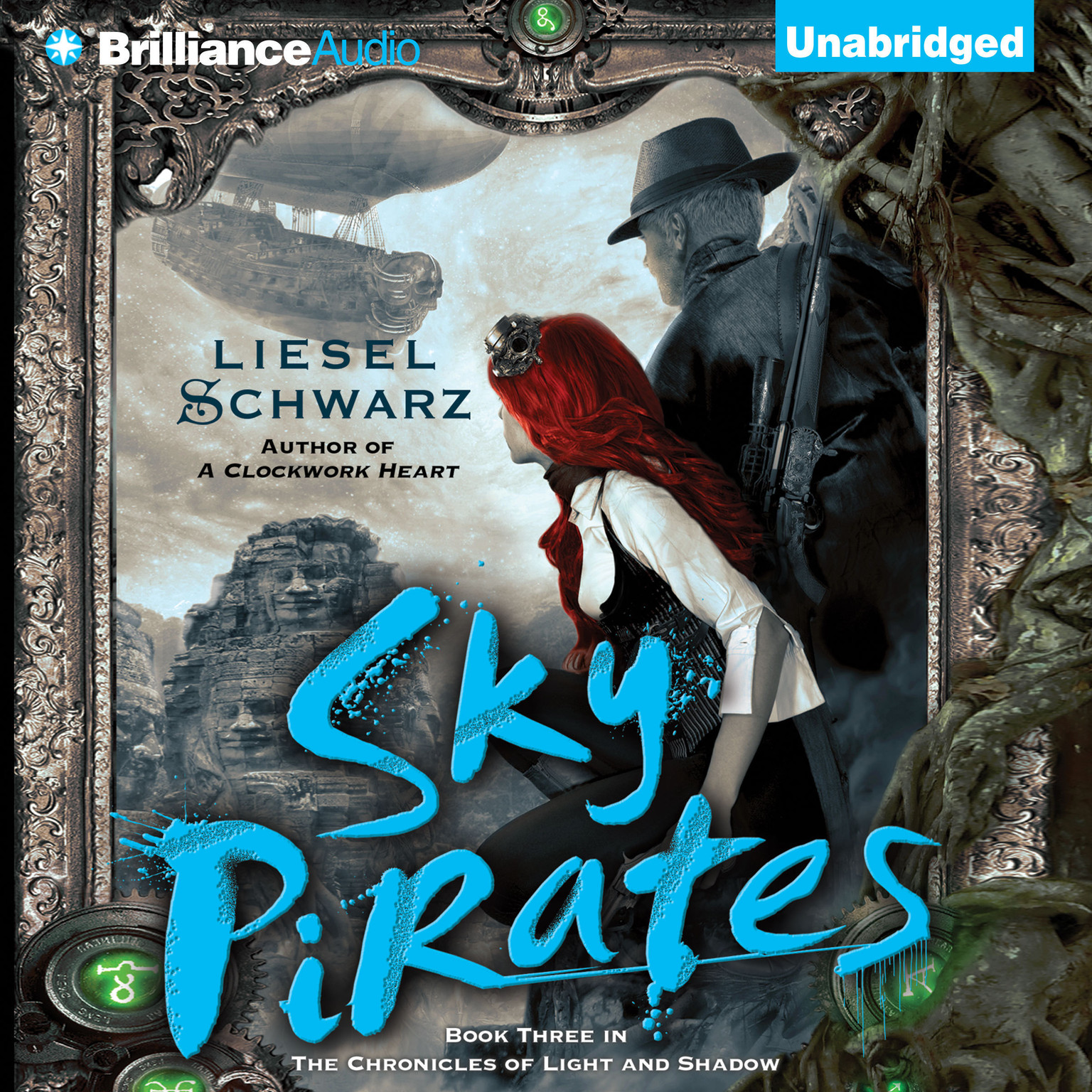 Printable Sky Pirates Audiobook Cover Art
