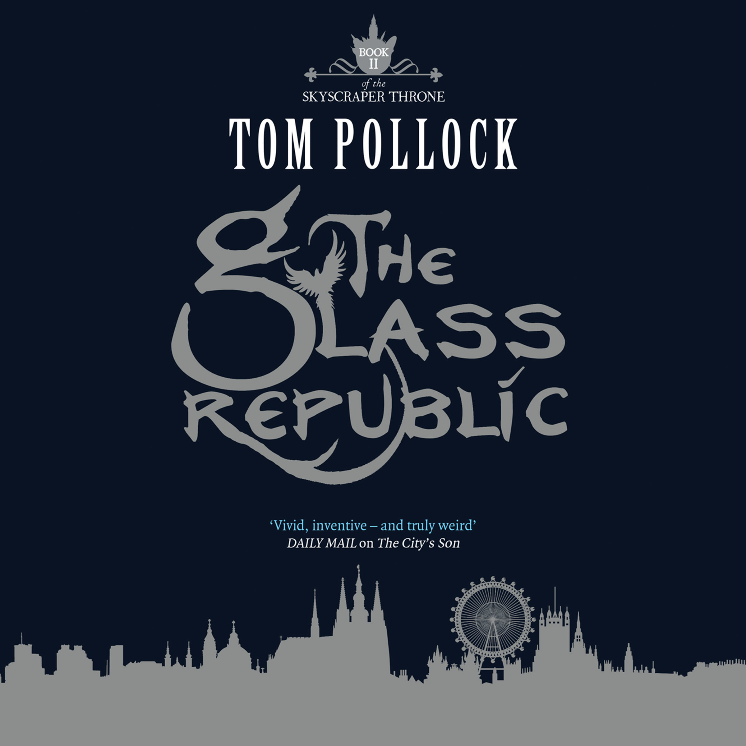 Printable The Glass Republic Audiobook Cover Art