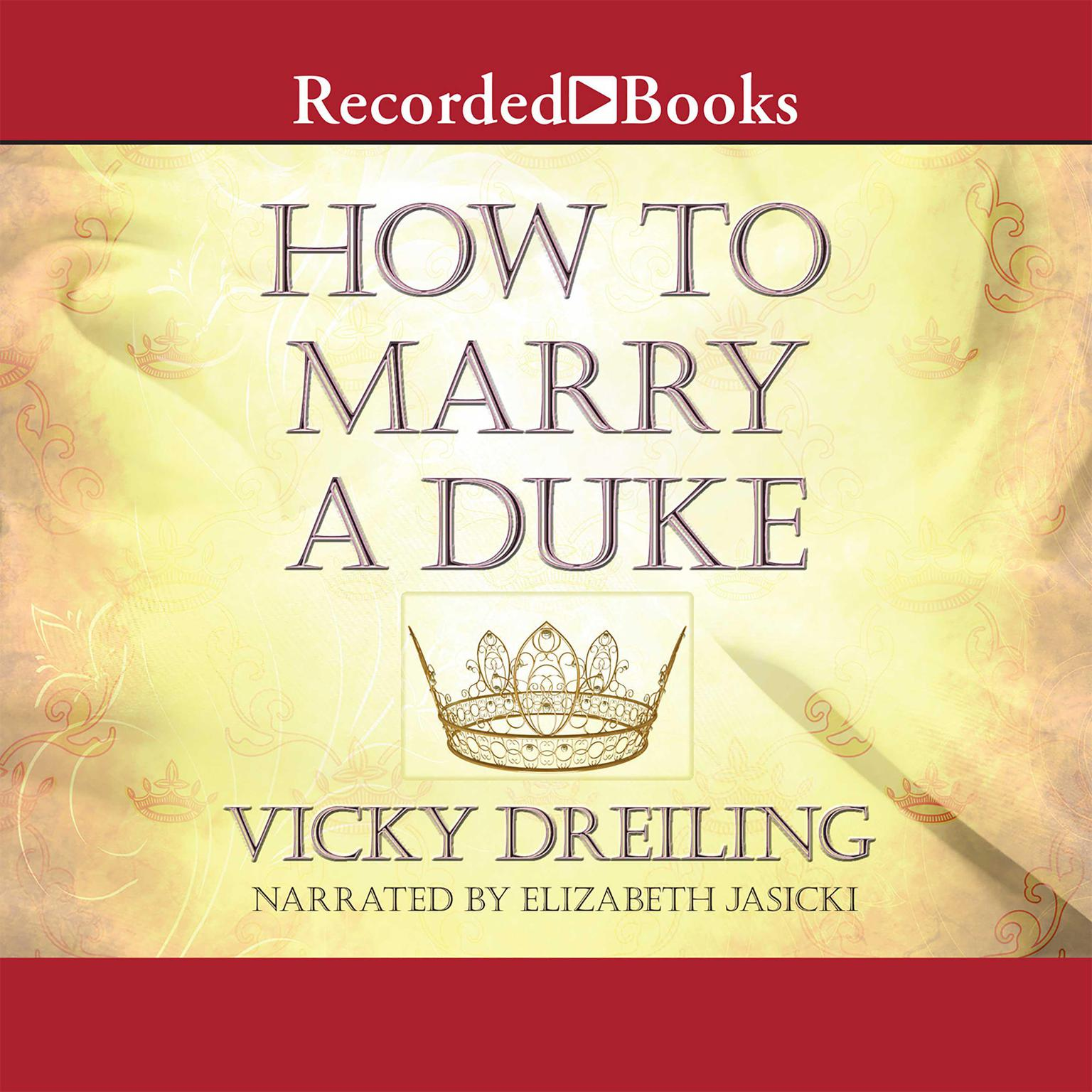 Printable How to Marry a Duke Audiobook Cover Art