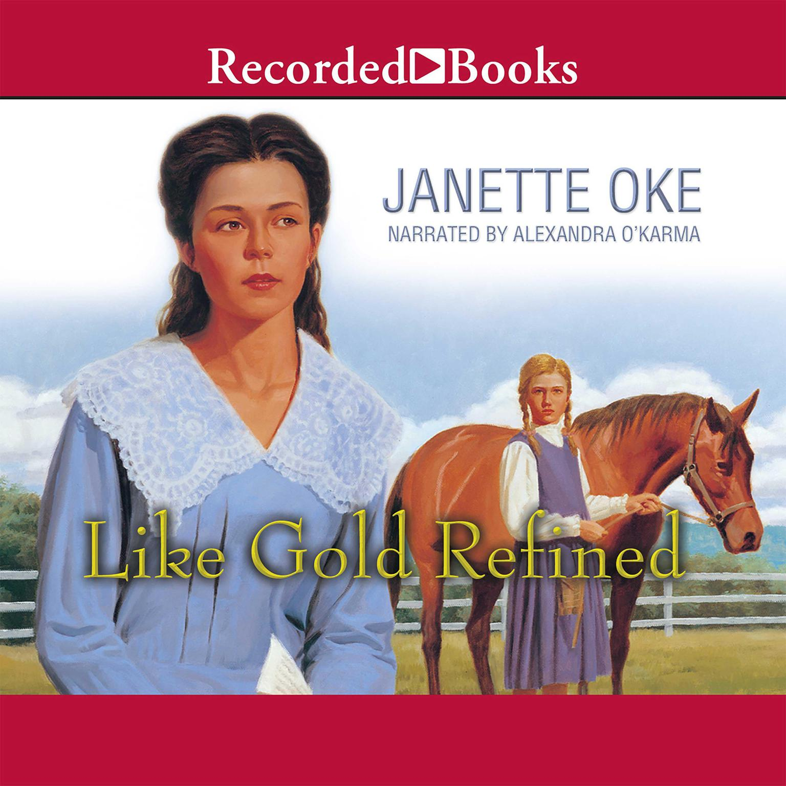 Printable Like Gold Refined Audiobook Cover Art
