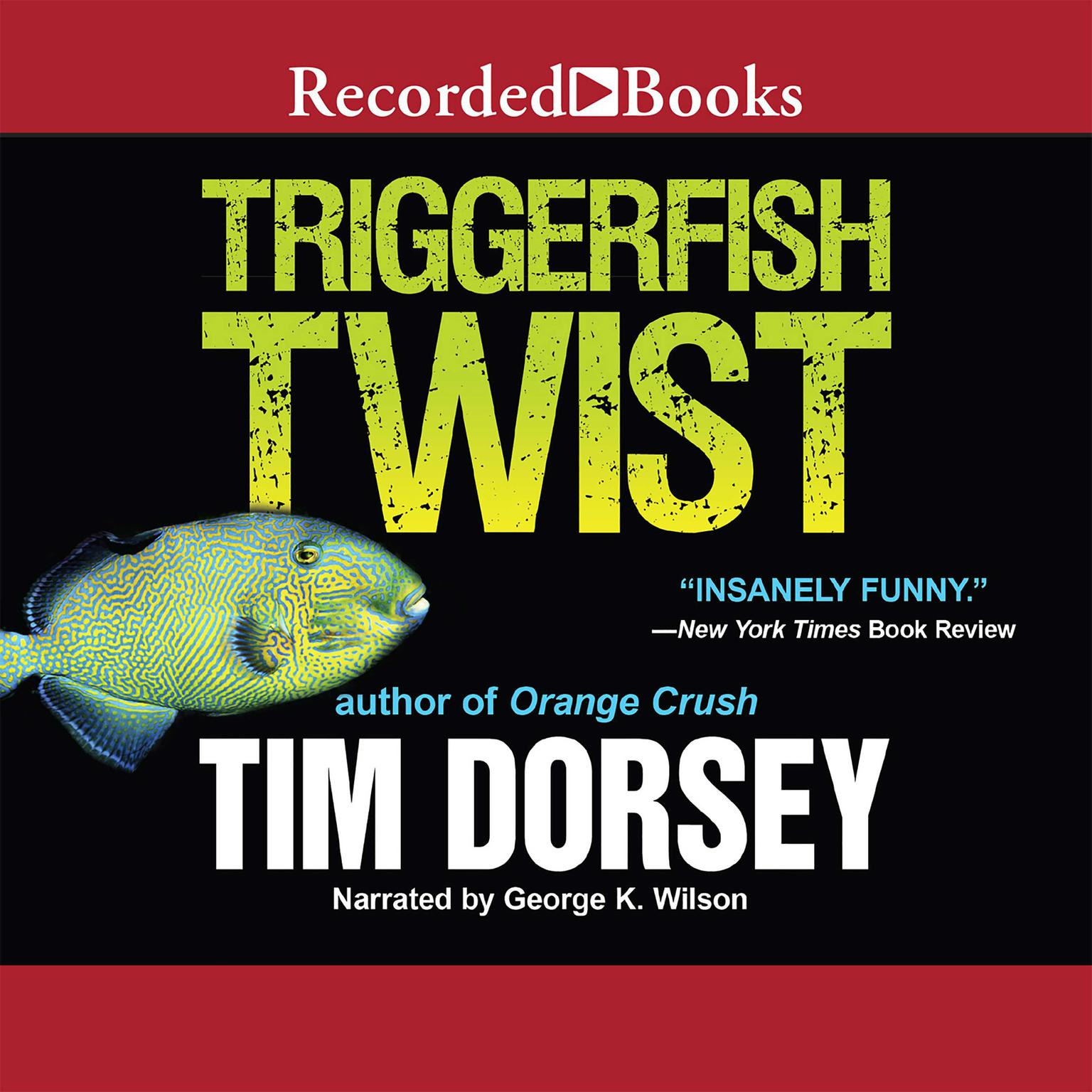 Printable Triggerfish Twist Audiobook Cover Art