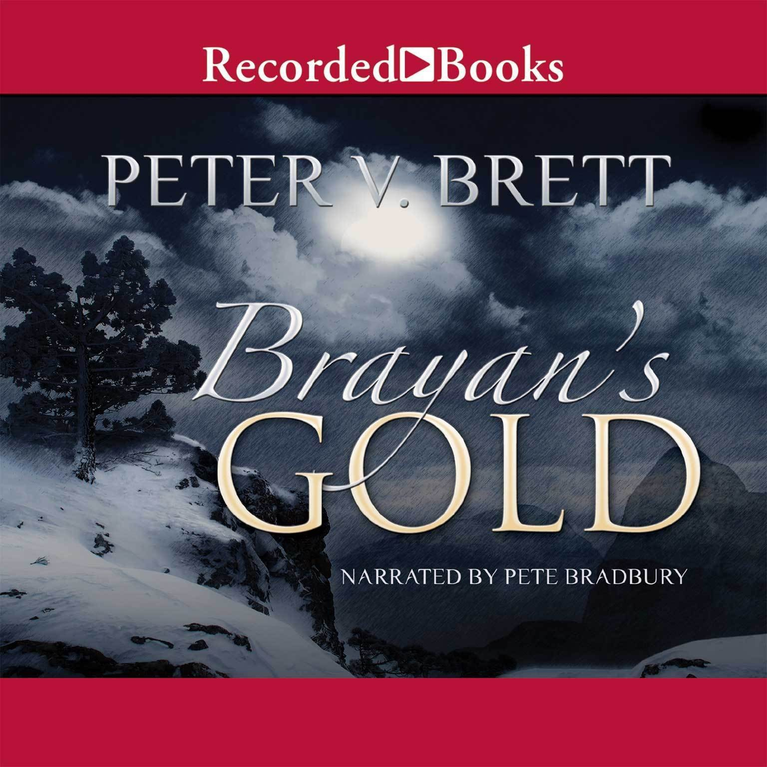Printable Brayan's Gold Audiobook Cover Art