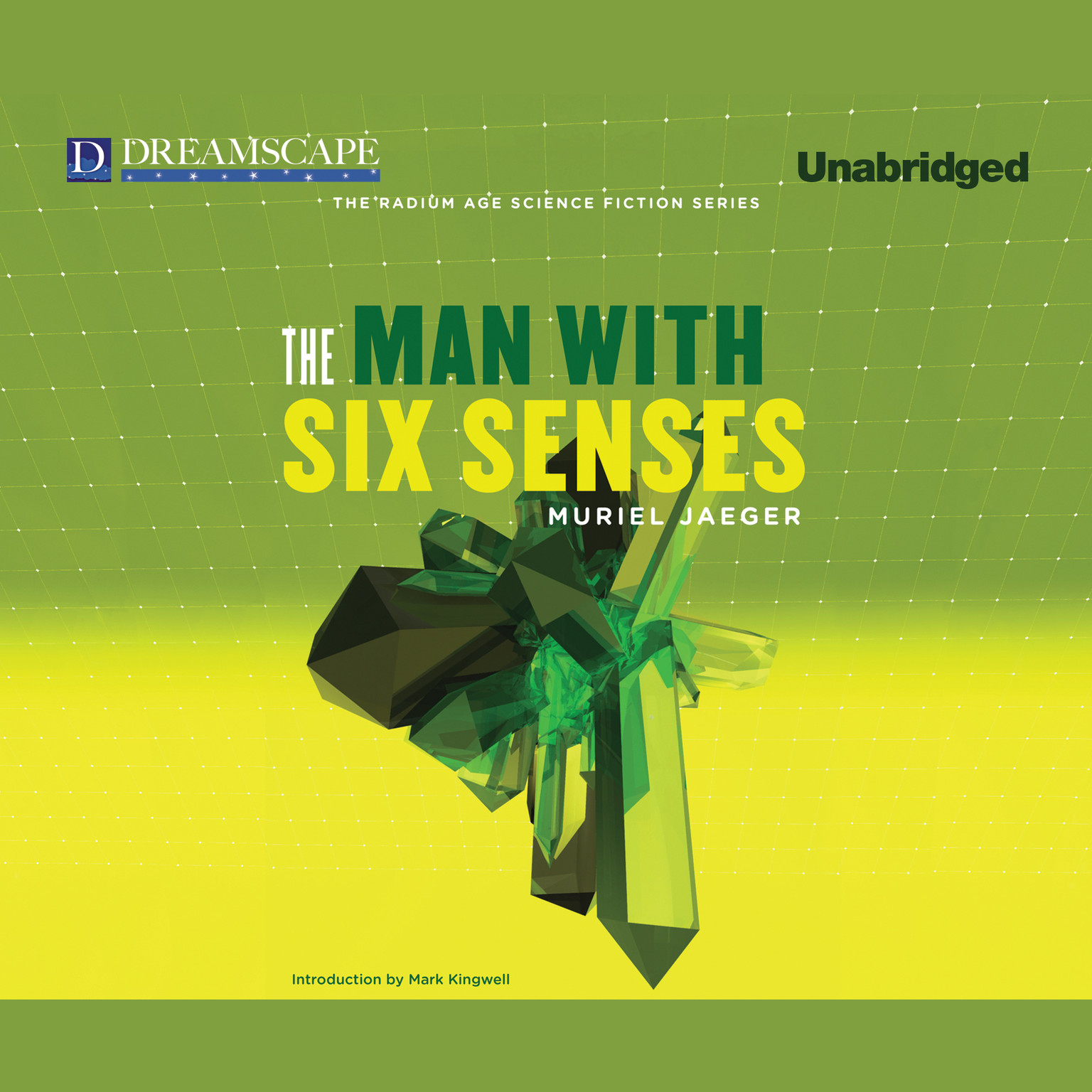 Printable The Man with Six Senses Audiobook Cover Art