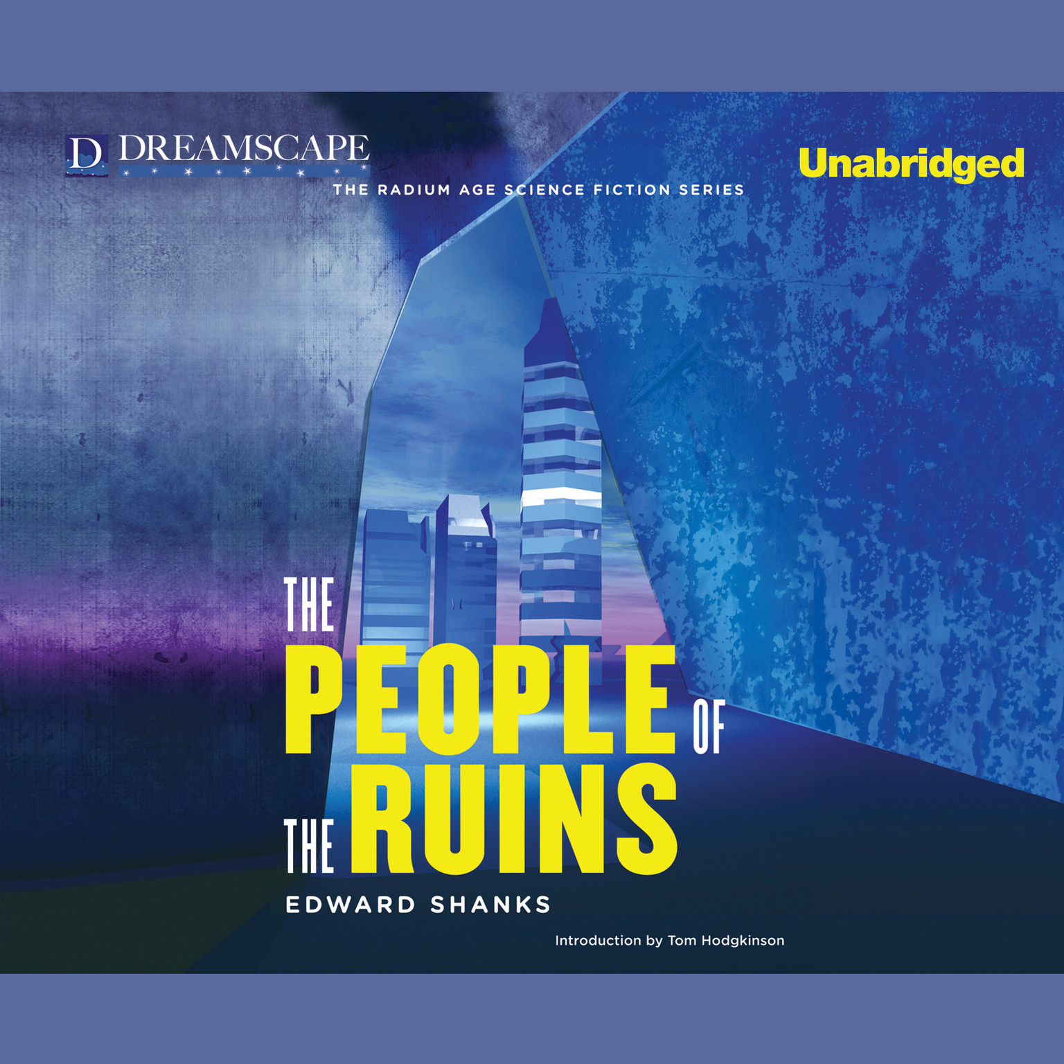 Printable The People of the Ruins Audiobook Cover Art
