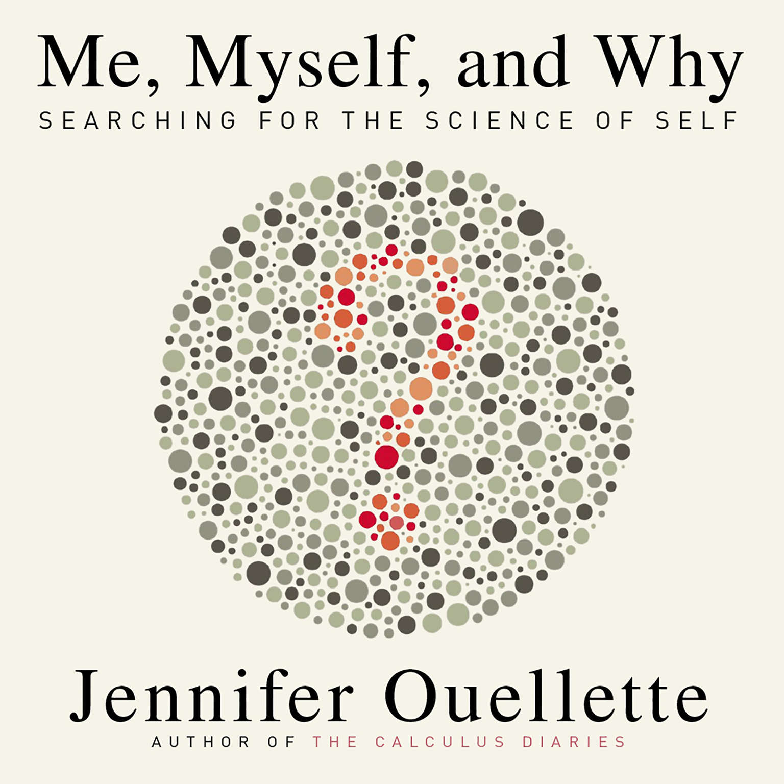 Printable Me, Myself, and Why: Searching for the Science of Self Audiobook Cover Art