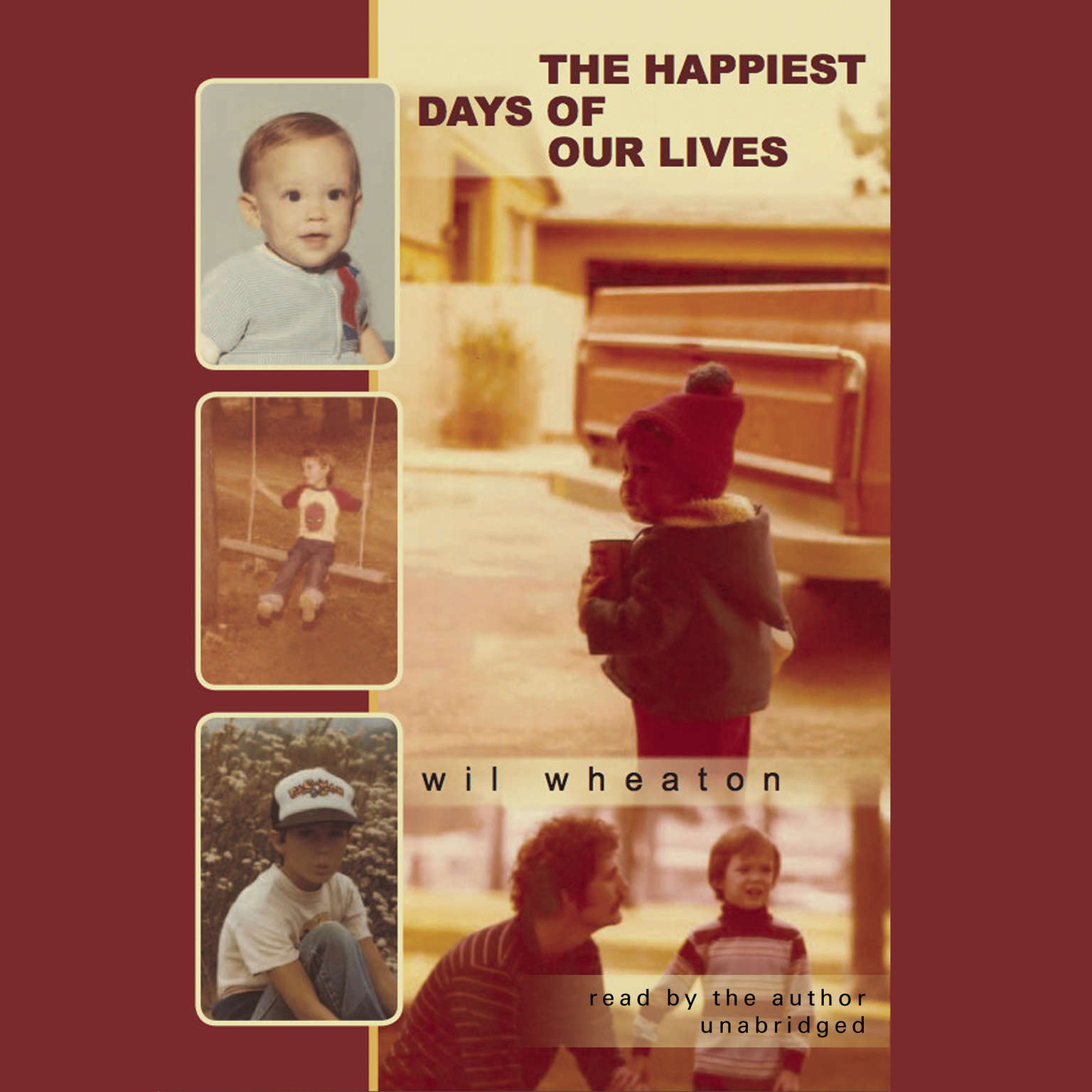 Printable The Happiest Days of Our Lives Audiobook Cover Art