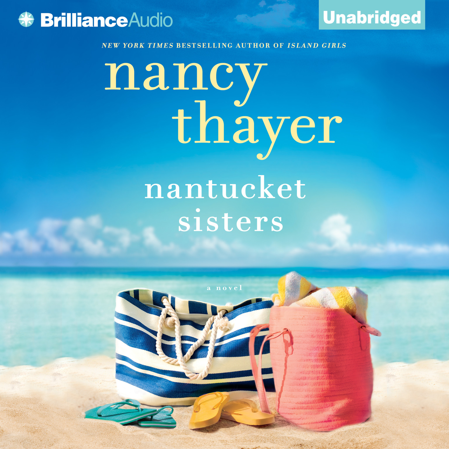 Printable Nantucket Sisters: A Novel Audiobook Cover Art