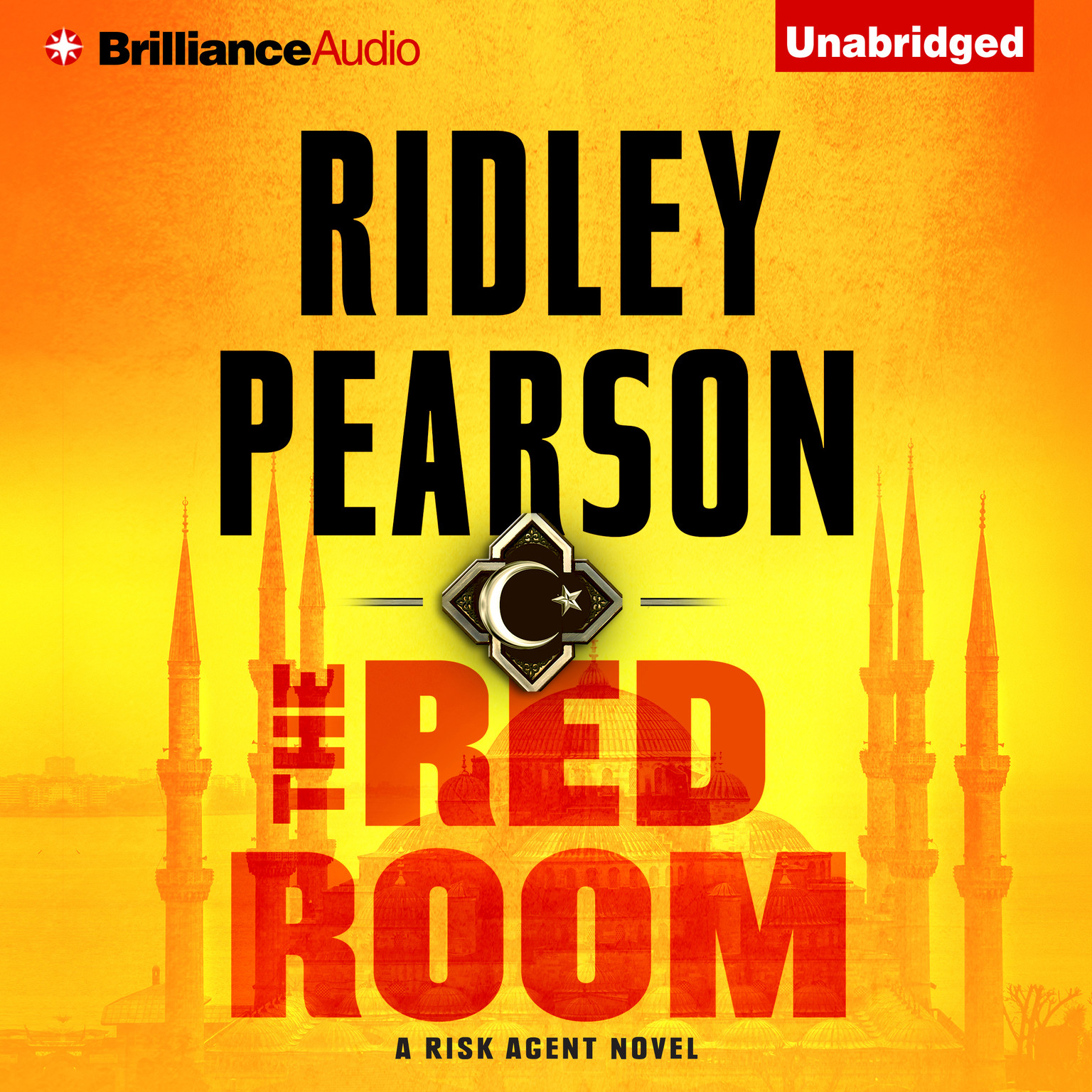 Printable The Red Room Audiobook Cover Art