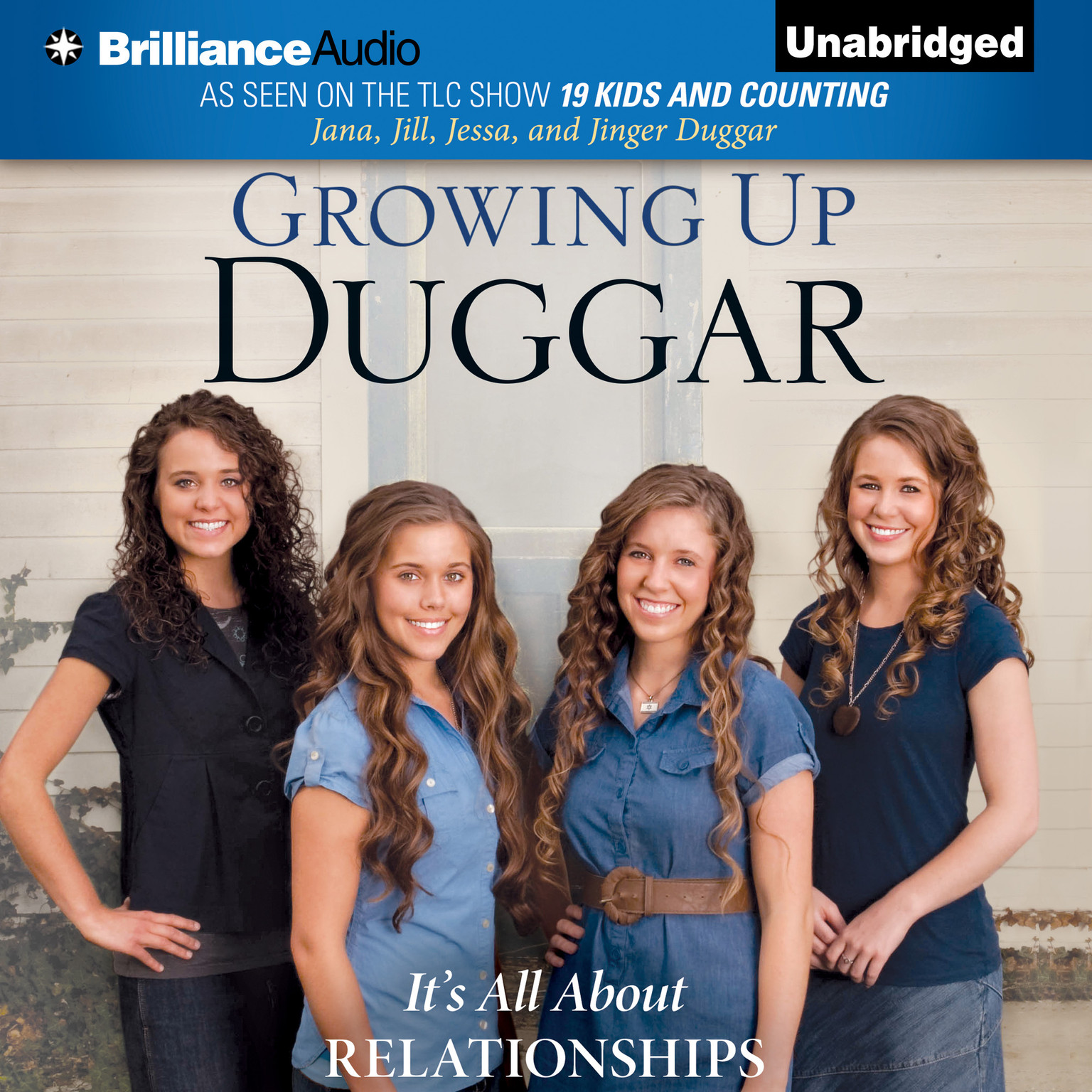 Printable Growing Up Duggar: It's All About Relationships Audiobook Cover Art