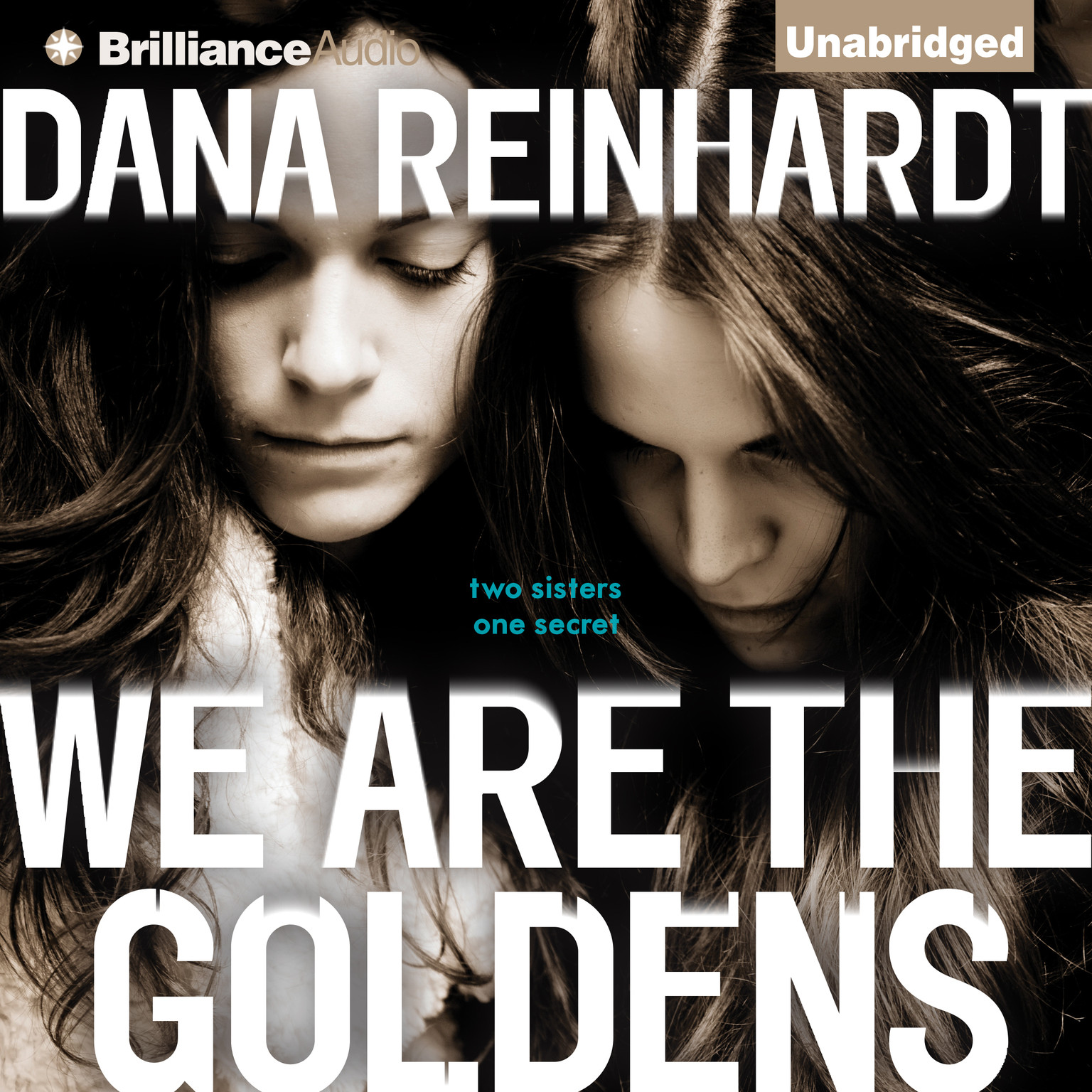 Printable We Are the Goldens Audiobook Cover Art