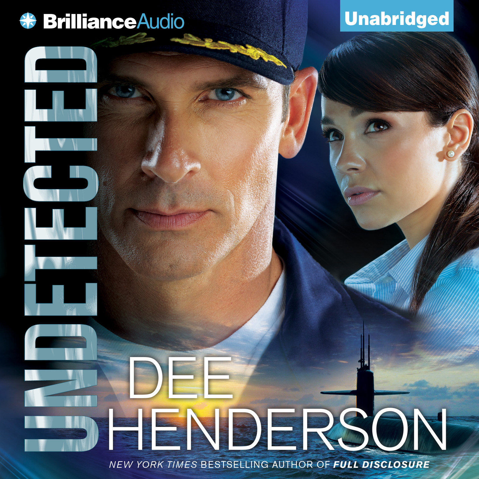 Printable Undetected Audiobook Cover Art