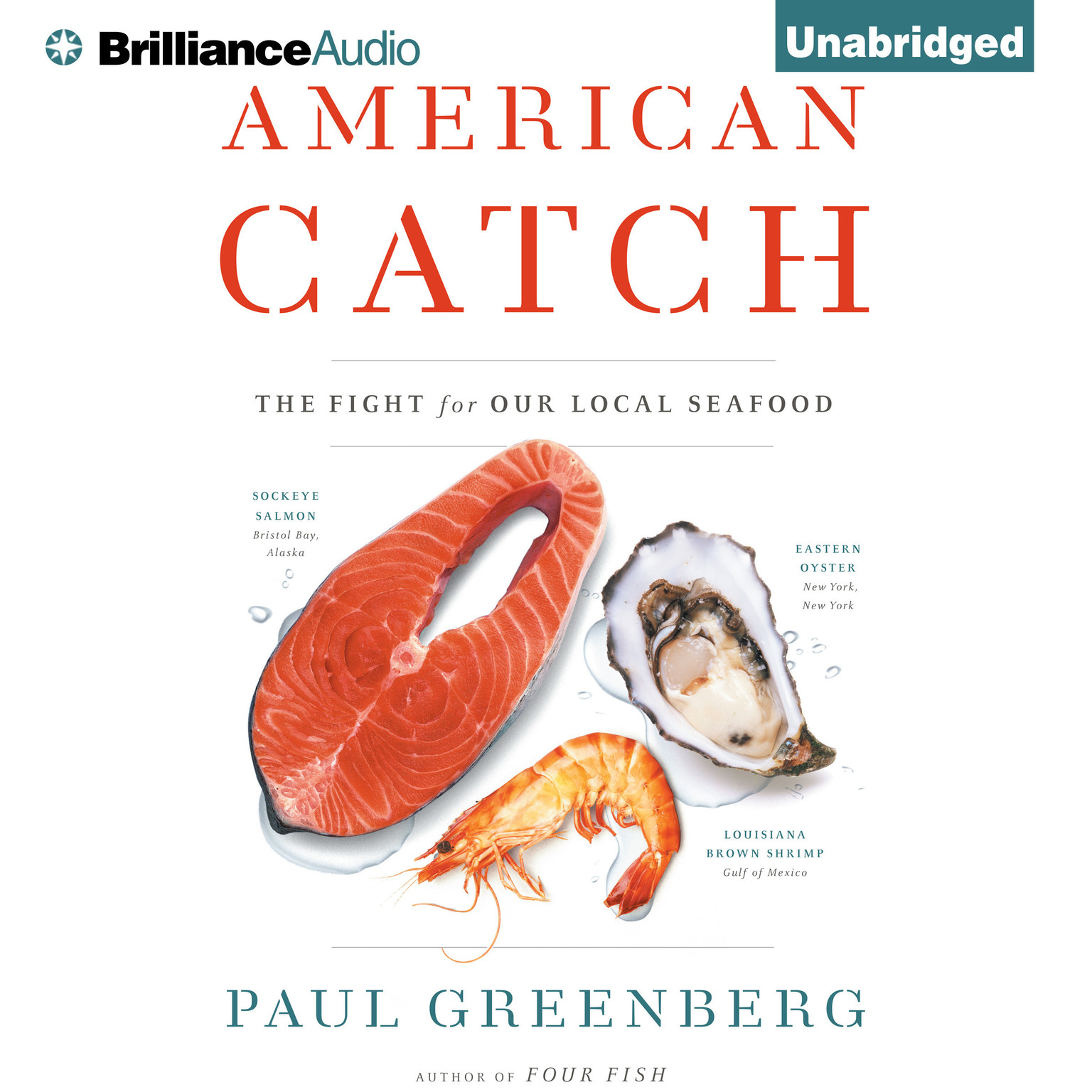 Printable American Catch: The Fight for Our Local Seafood Audiobook Cover Art