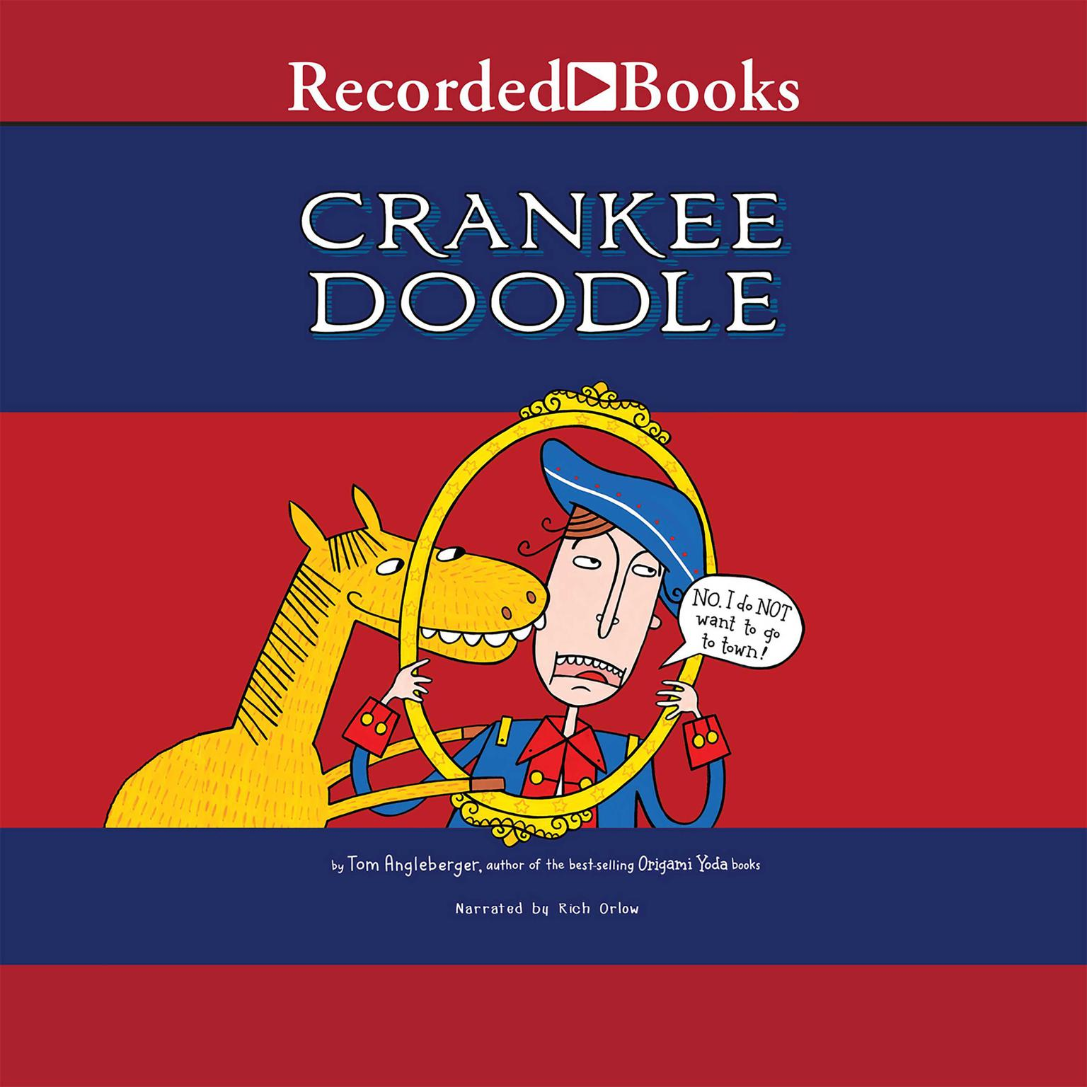 Printable Crankee Doodle Audiobook Cover Art