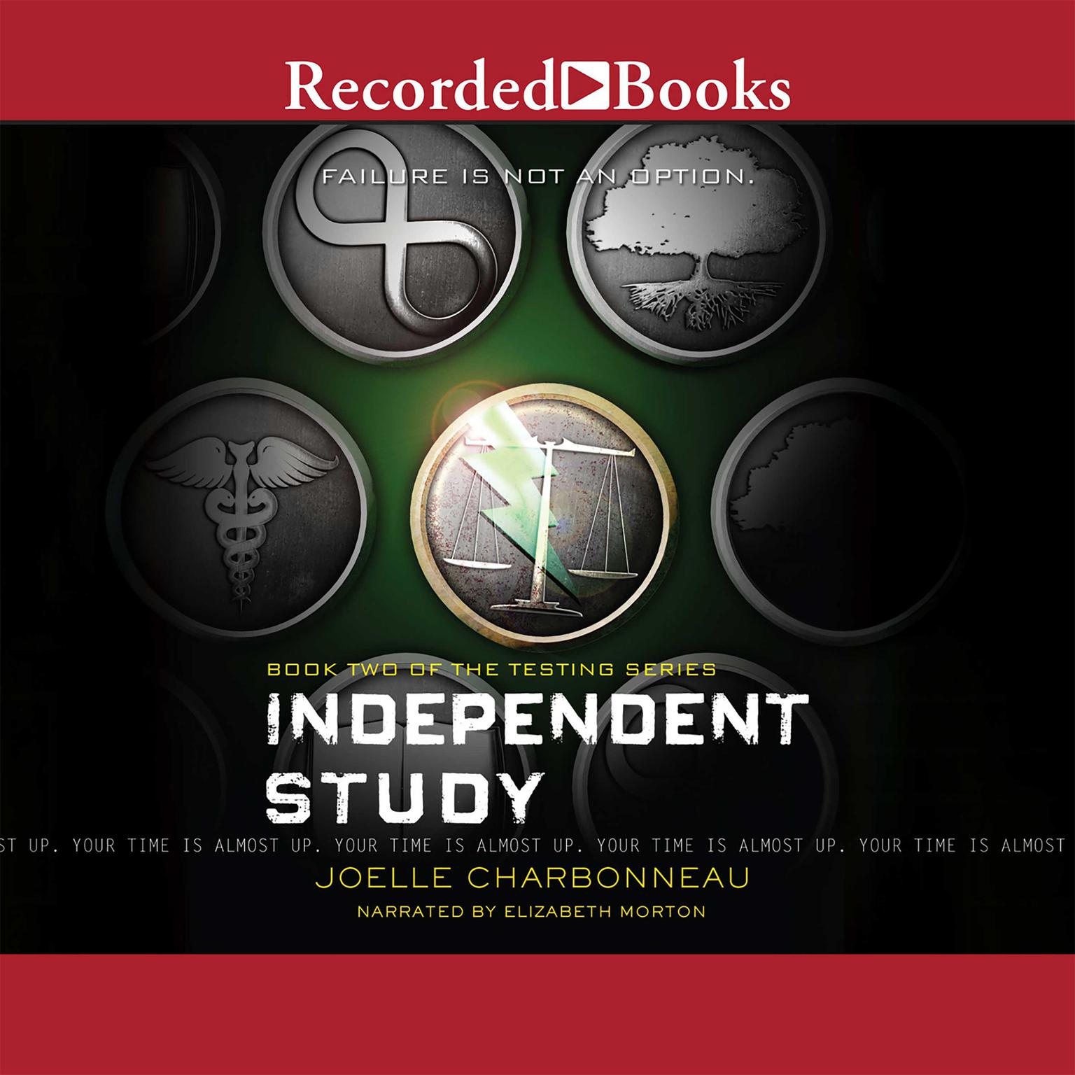 Printable Independent Study Audiobook Cover Art