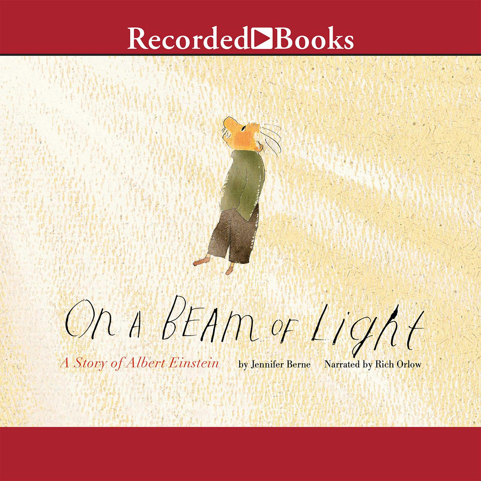 Printable On a Beam of Light: A Story of Albert Einstein Audiobook Cover Art