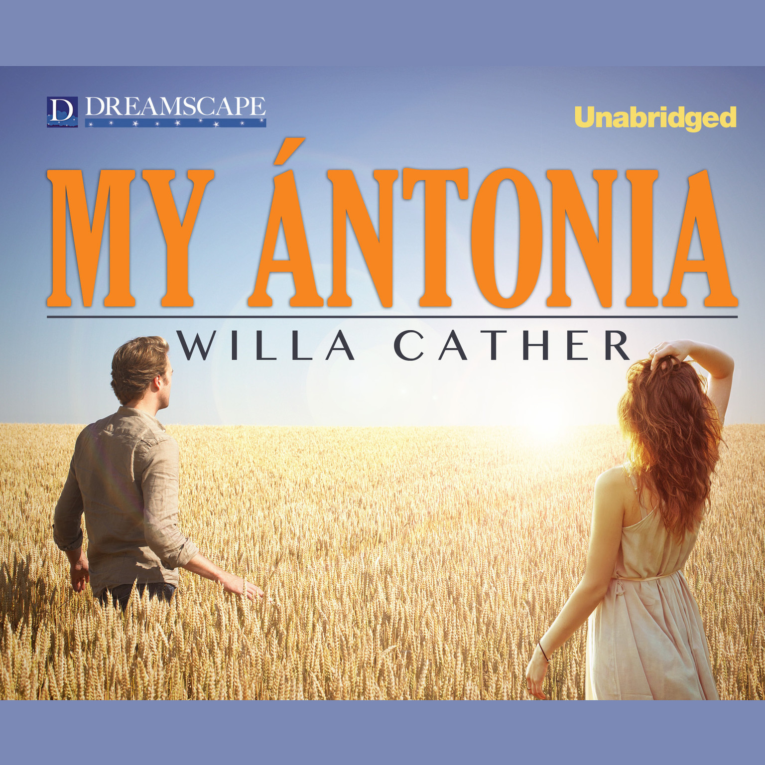Printable My Ántonia Audiobook Cover Art