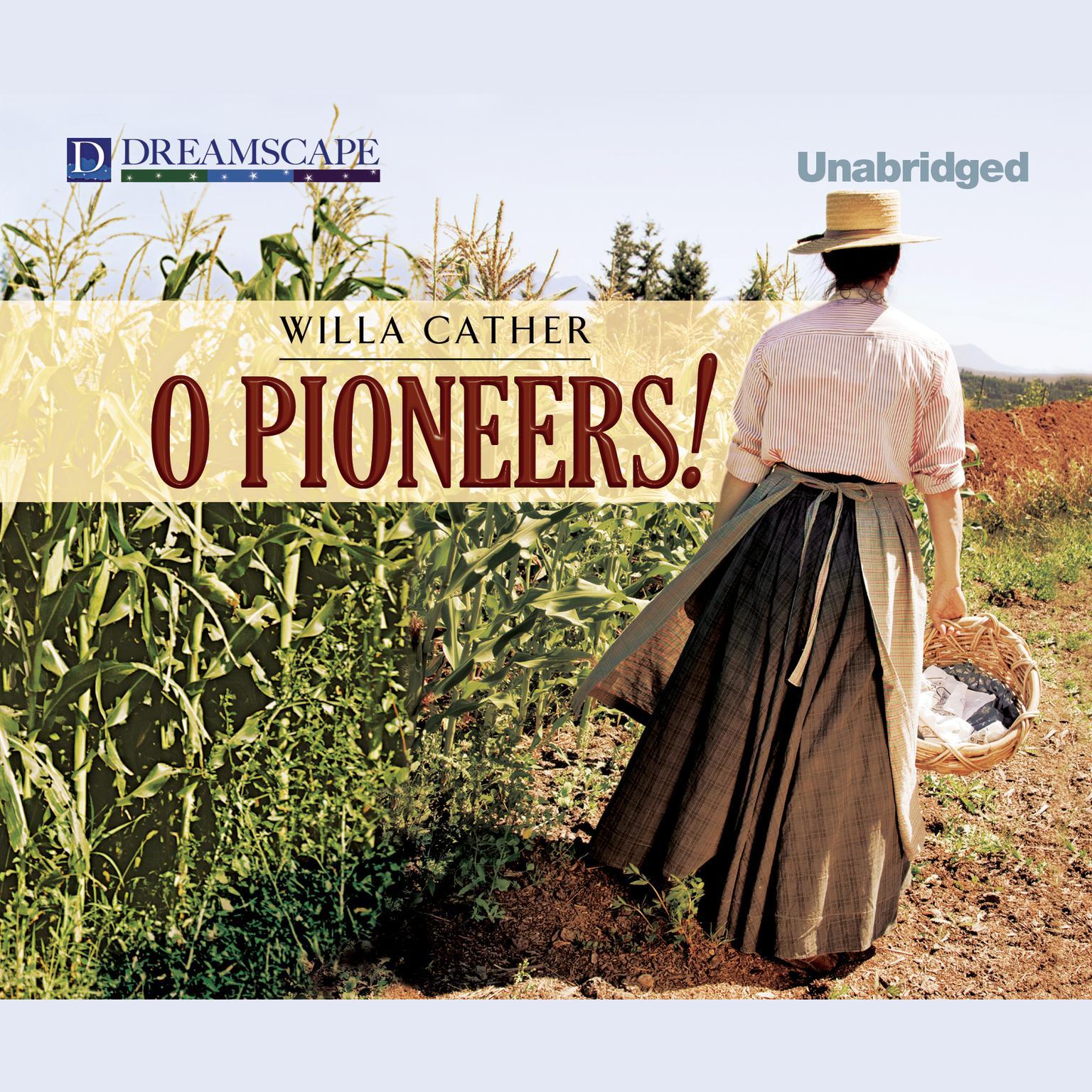 Printable O Pioneers! Audiobook Cover Art