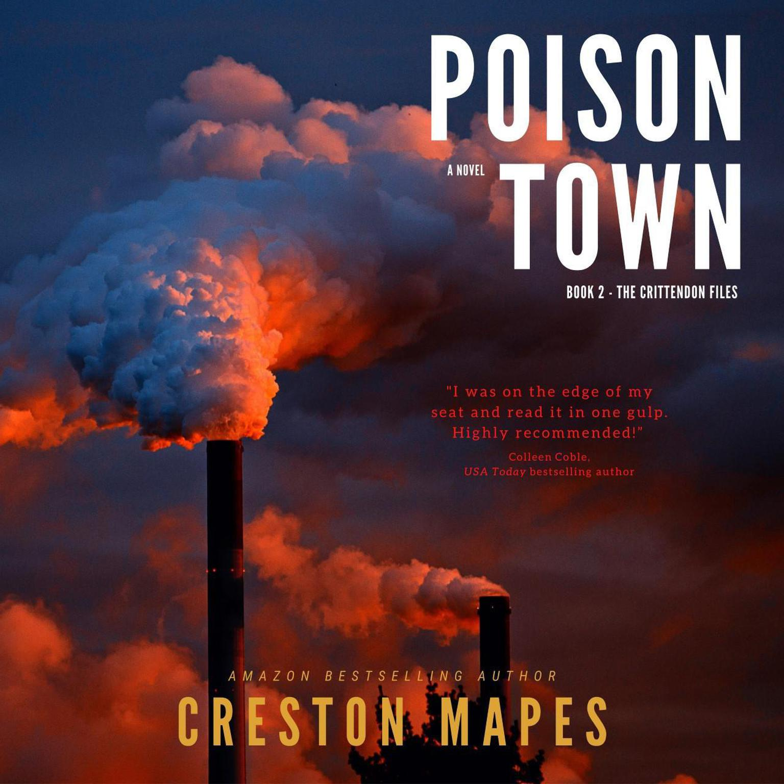 Printable Poison Town: A Novel Audiobook Cover Art