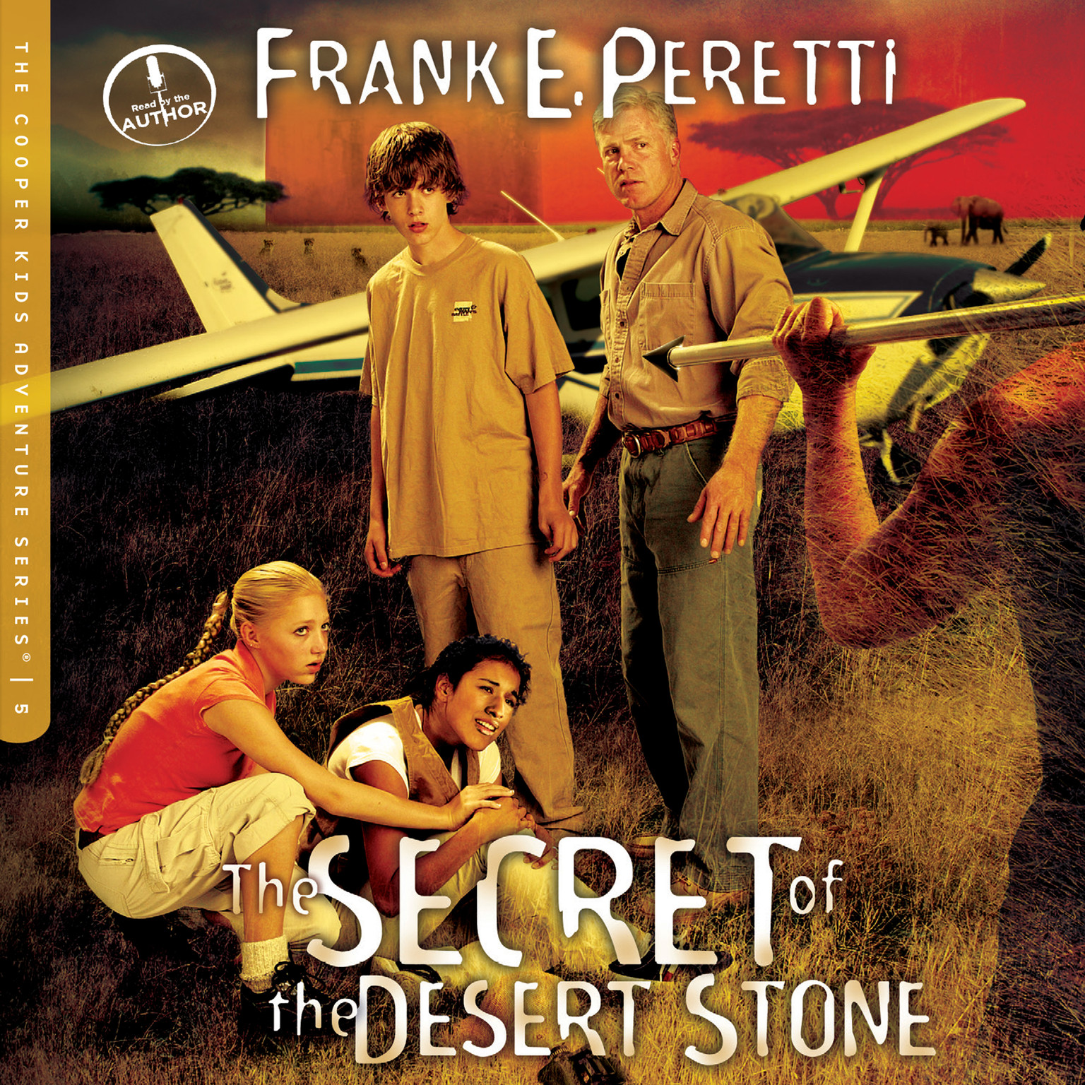 Printable The Secret of the Desert Stone Audiobook Cover Art