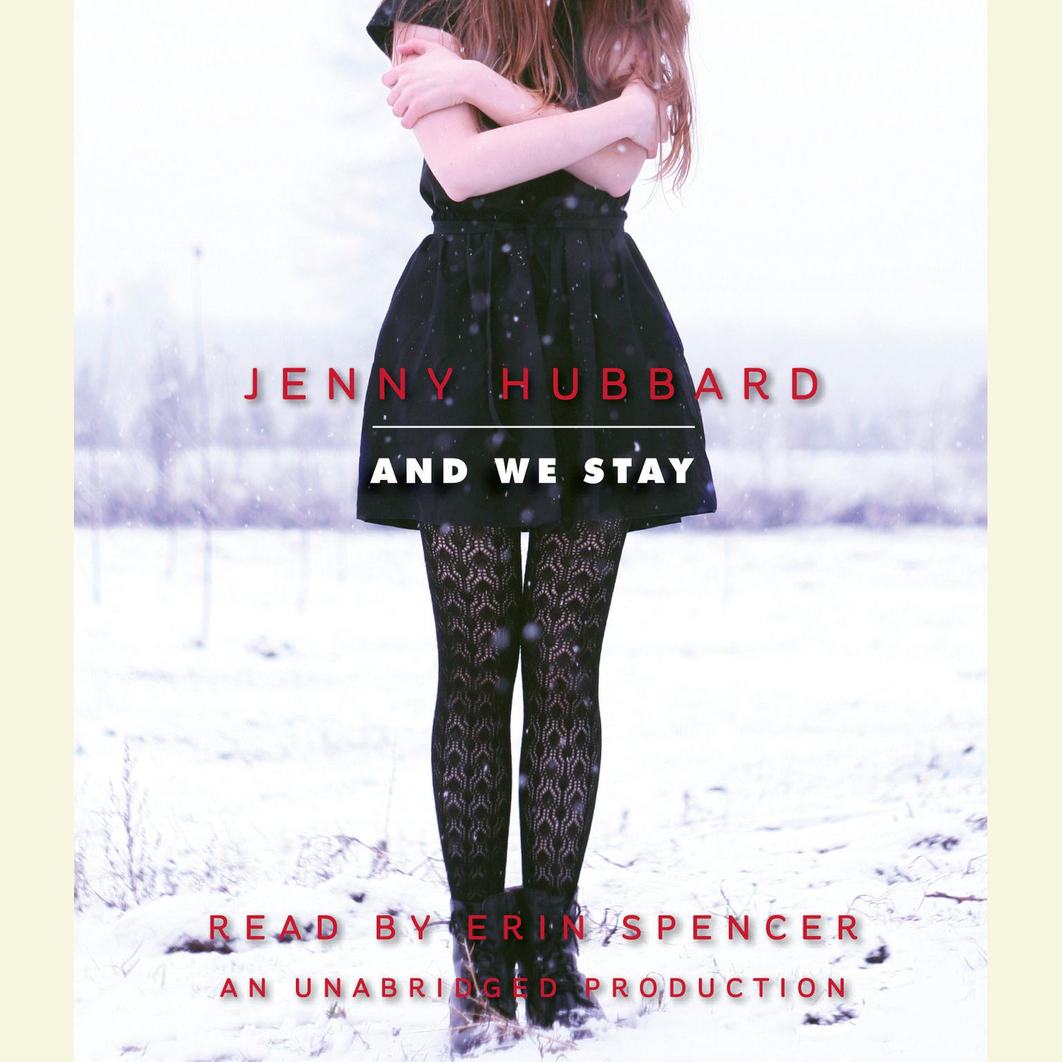 Printable And We Stay Audiobook Cover Art
