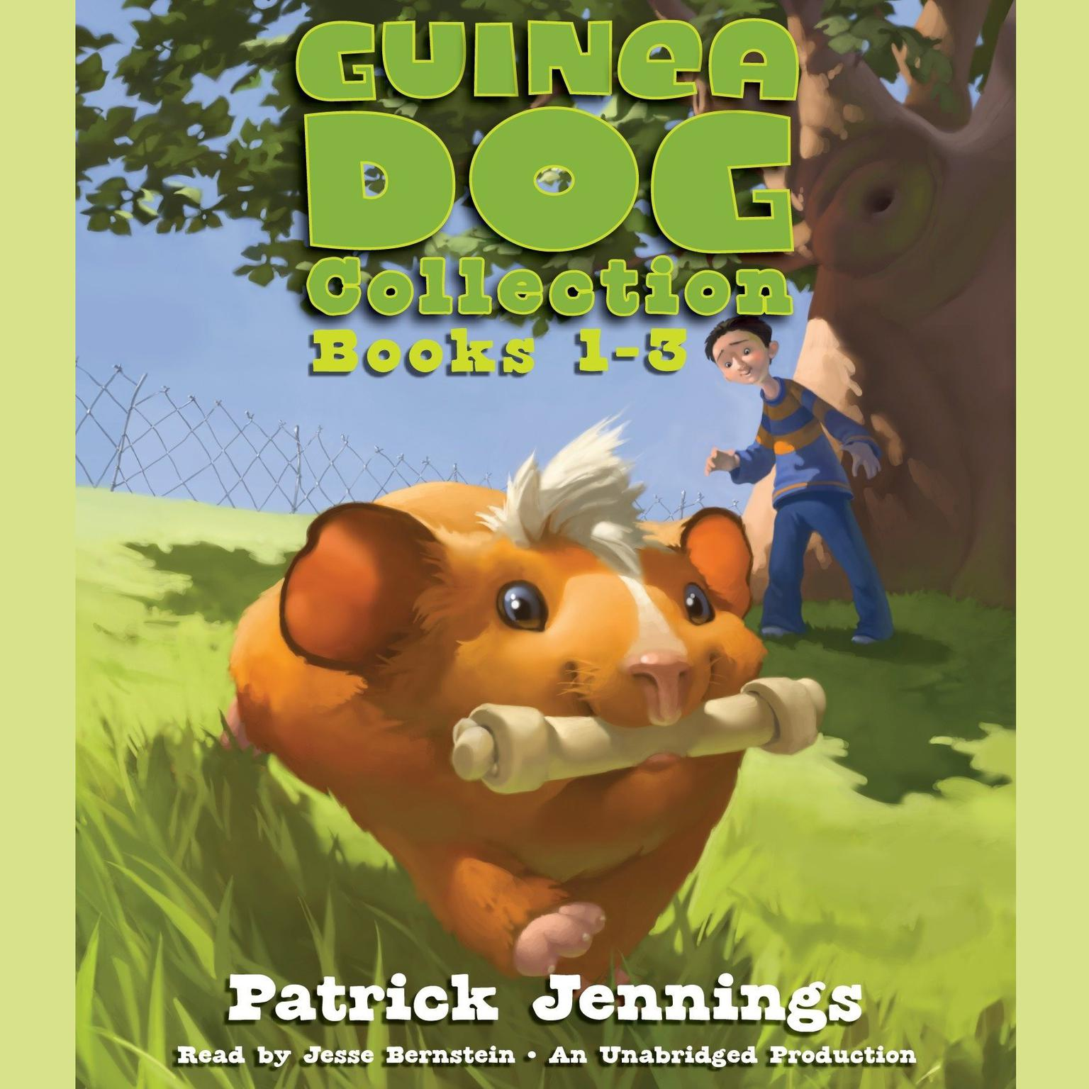 Printable Guinea Dog Collection: Books 1-3 Audiobook Cover Art