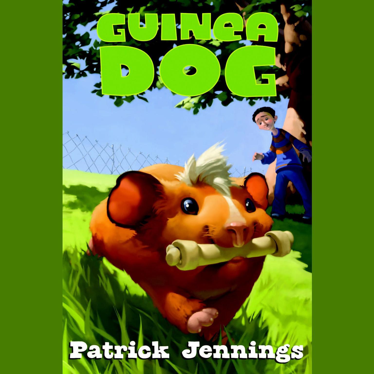 Printable Guinea Dog Audiobook Cover Art