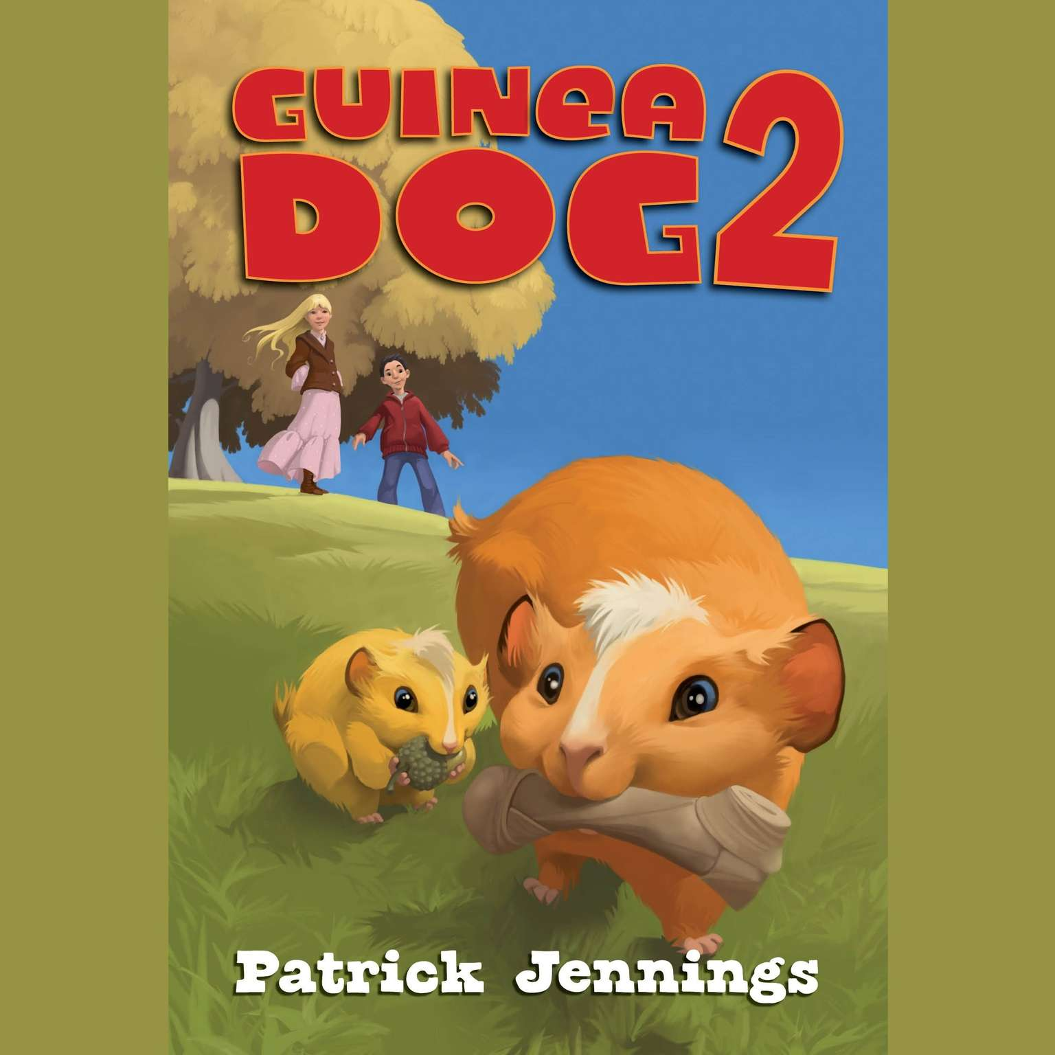 Printable Guinea Dog 2 Audiobook Cover Art
