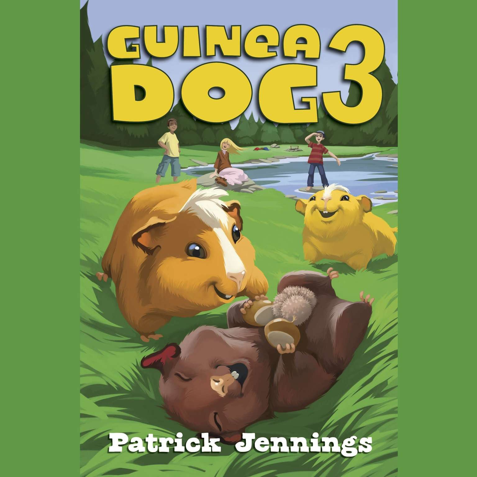 Printable Guinea Dog 3 Audiobook Cover Art