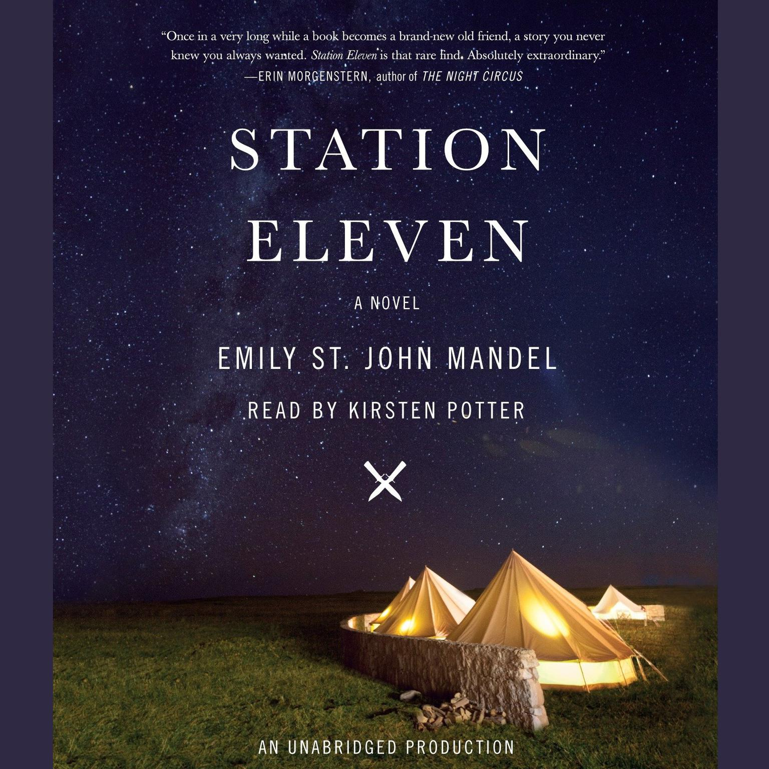 Printable Station Eleven: A novel Audiobook Cover Art