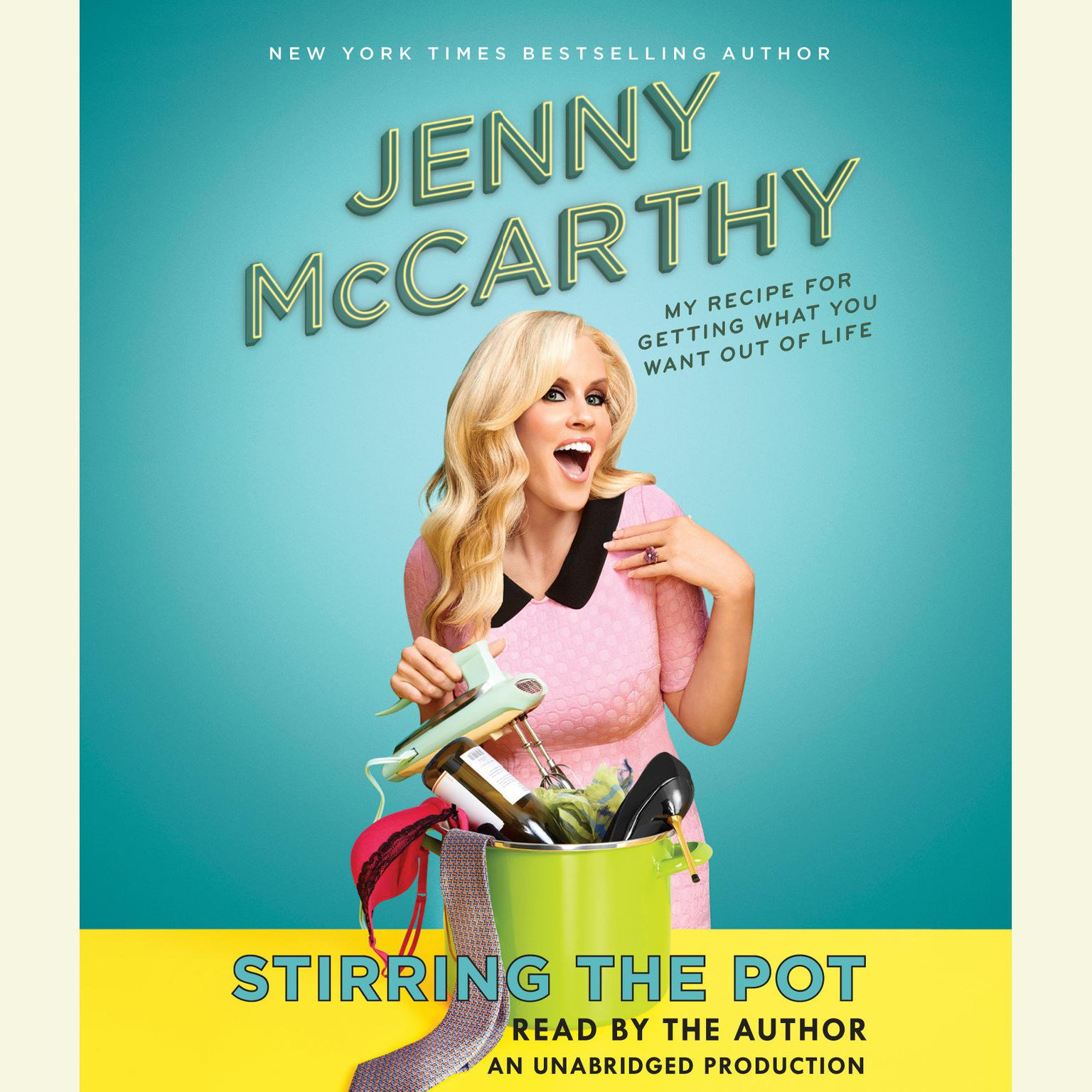 Printable Stirring the Pot: My Recipe for Getting What You Want Out of Life Audiobook Cover Art