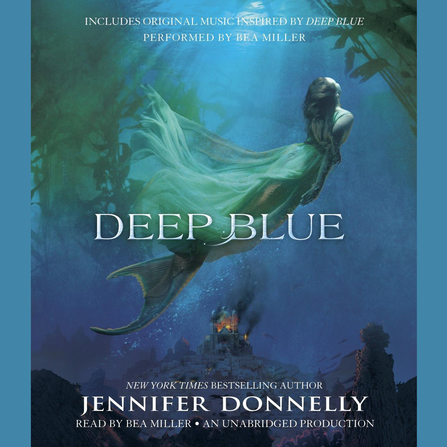 Printable Deep Blue Audiobook Cover Art