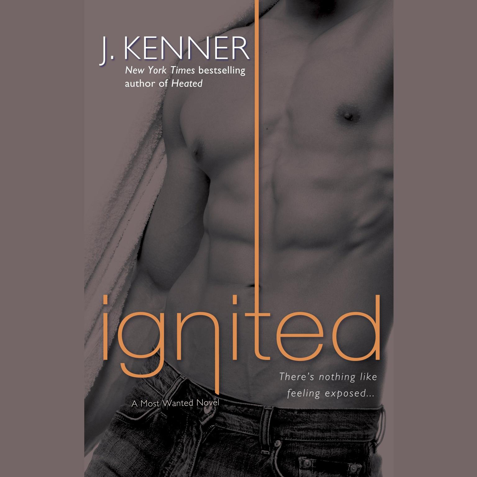 Printable Ignited: A Most Wanted Novel Audiobook Cover Art