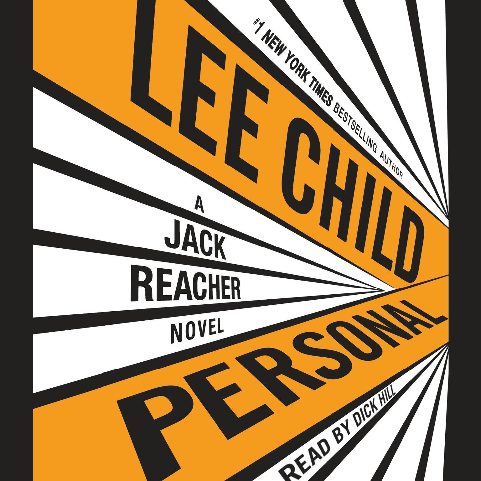 Printable Personal: A Jack Reacher Novel Audiobook Cover Art