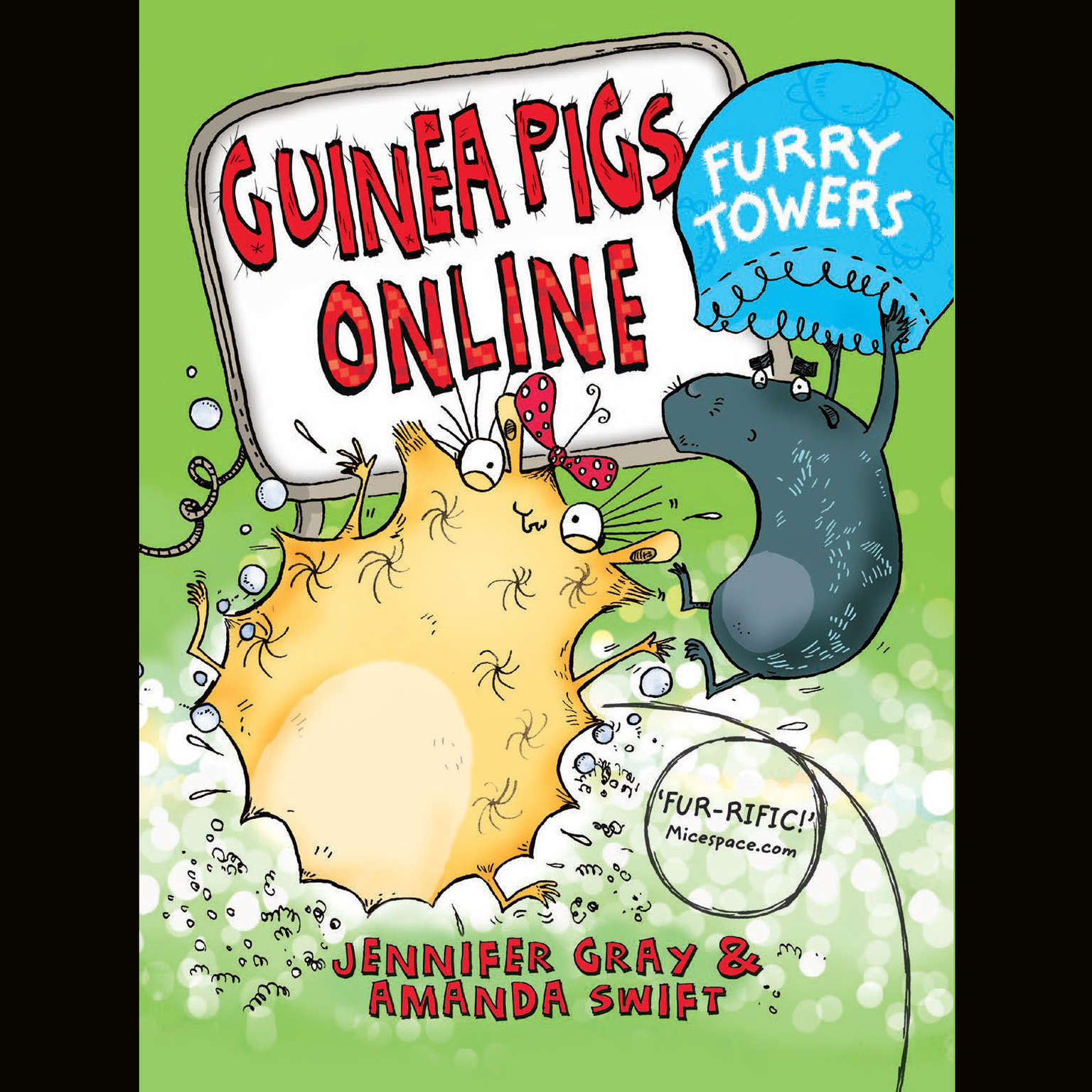 Printable Furry Towers Audiobook Cover Art