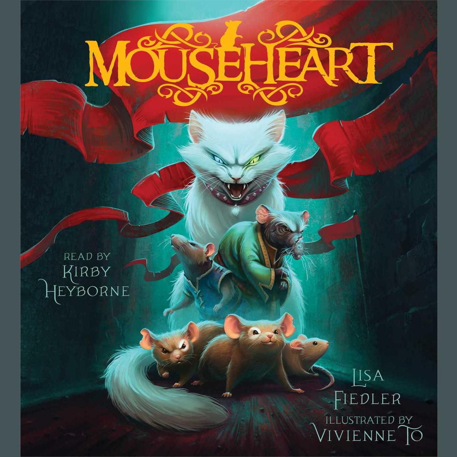 Printable Mouseheart Audiobook Cover Art