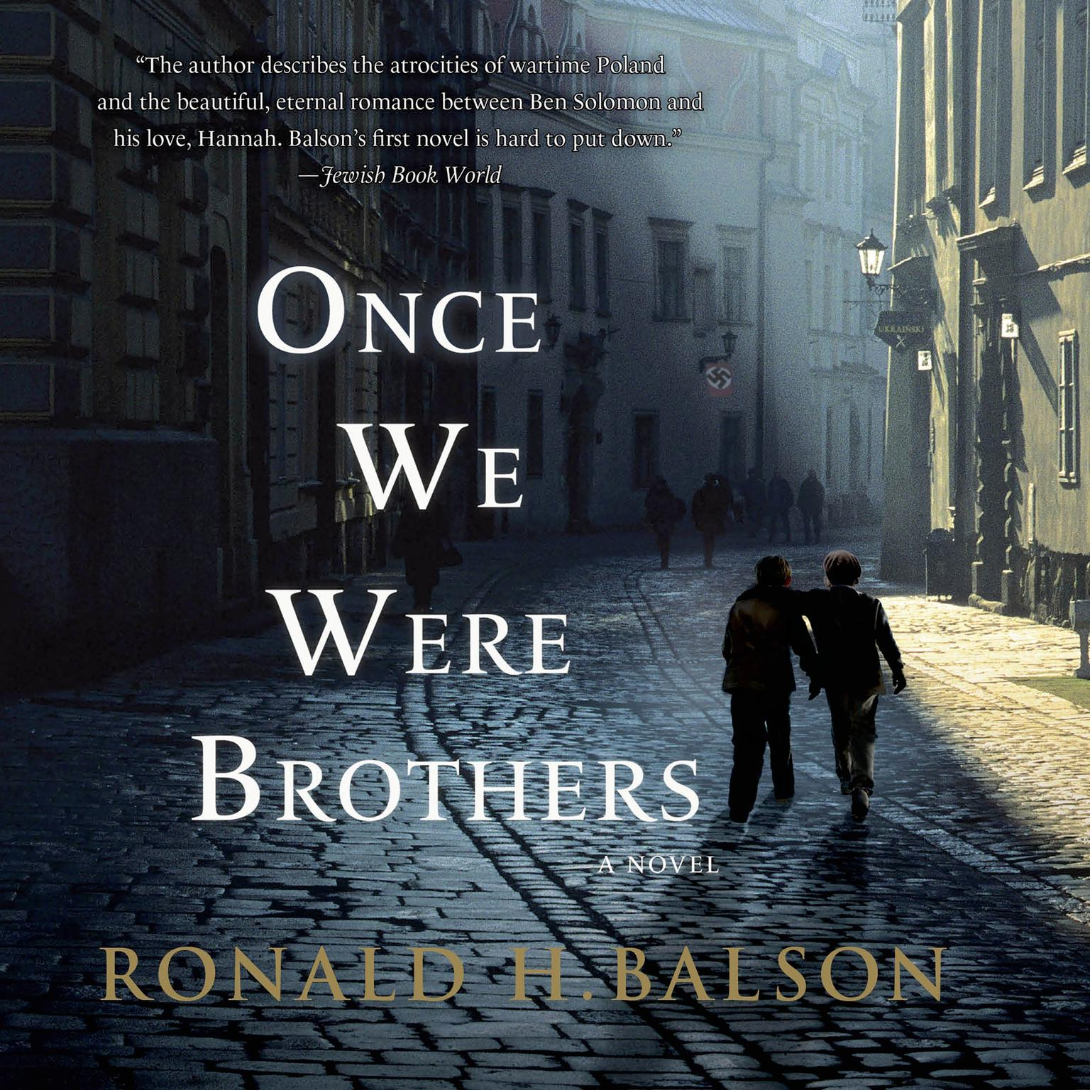 Printable Once We Were Brothers Audiobook Cover Art
