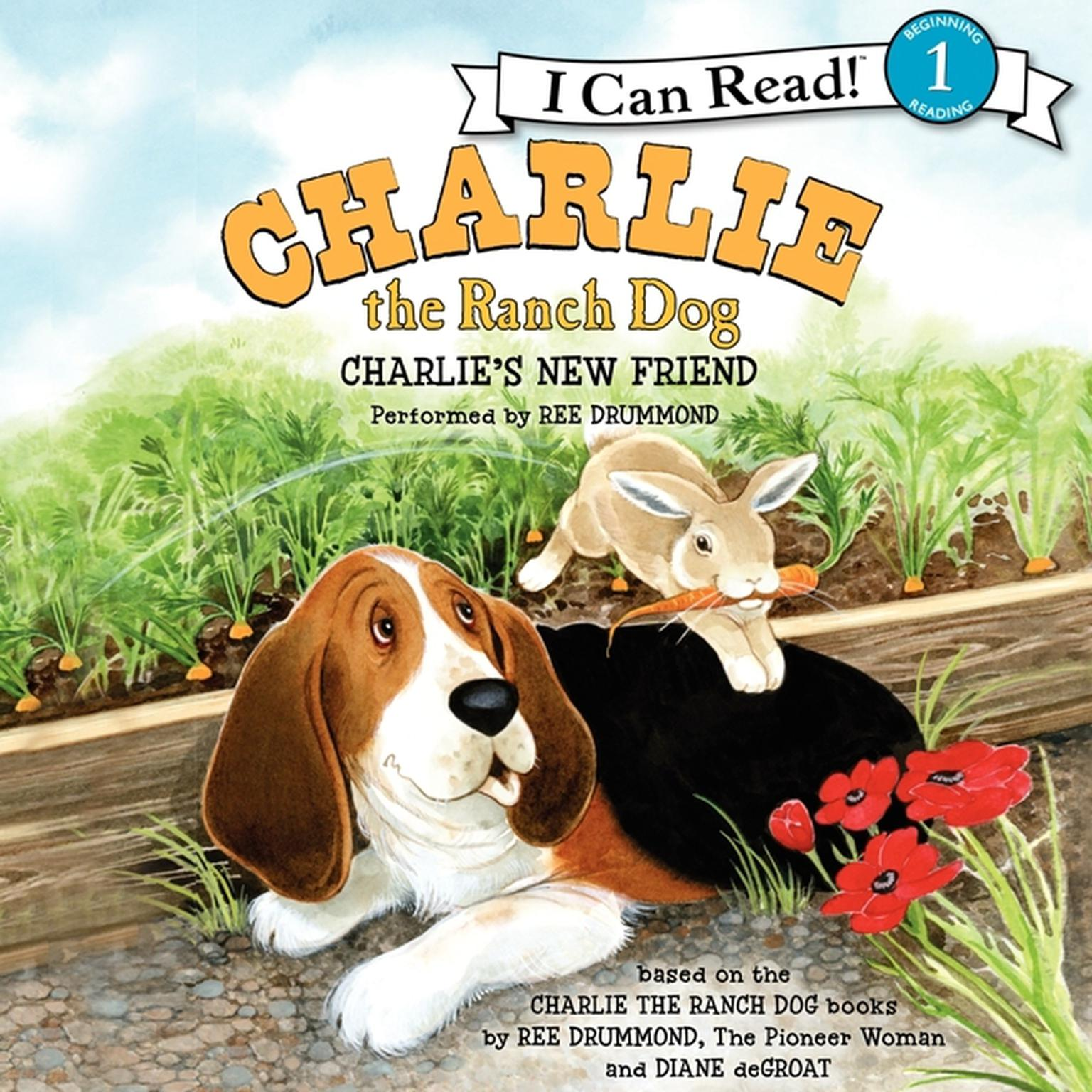 Printable Charlie's New Friend Audiobook Cover Art