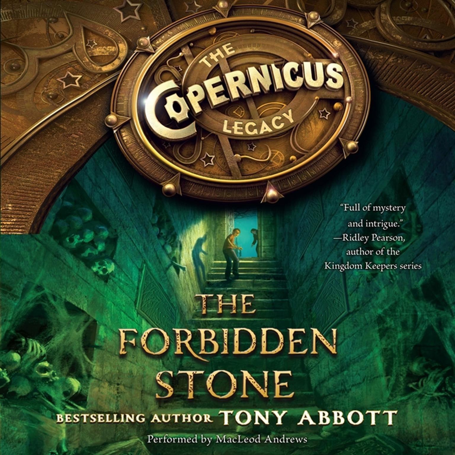 Printable The Forbidden Stone Audiobook Cover Art