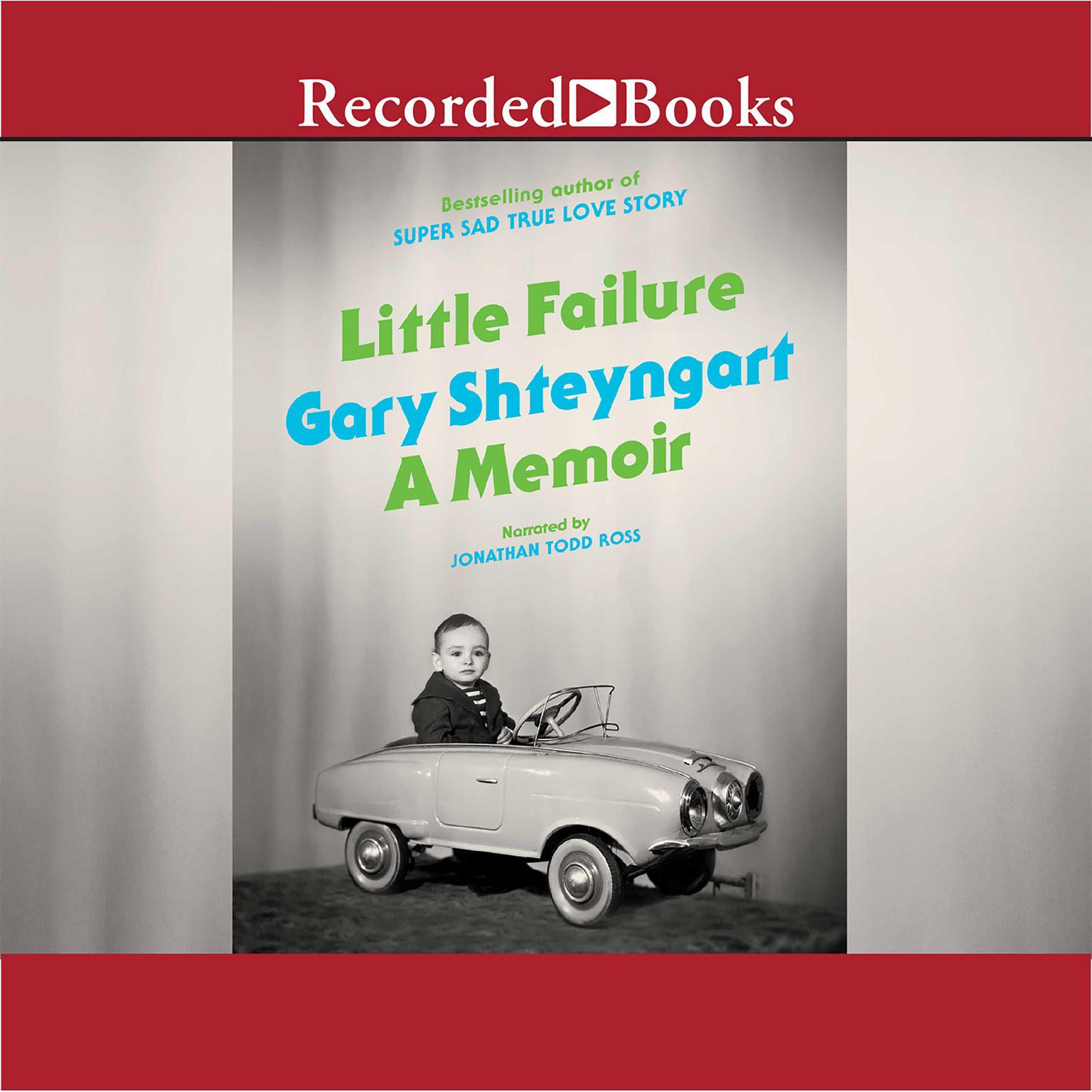 Printable Little Failure: A Memoir Audiobook Cover Art