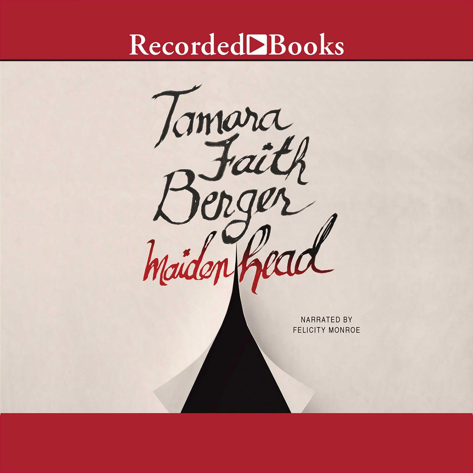 Printable Maidenhead Audiobook Cover Art