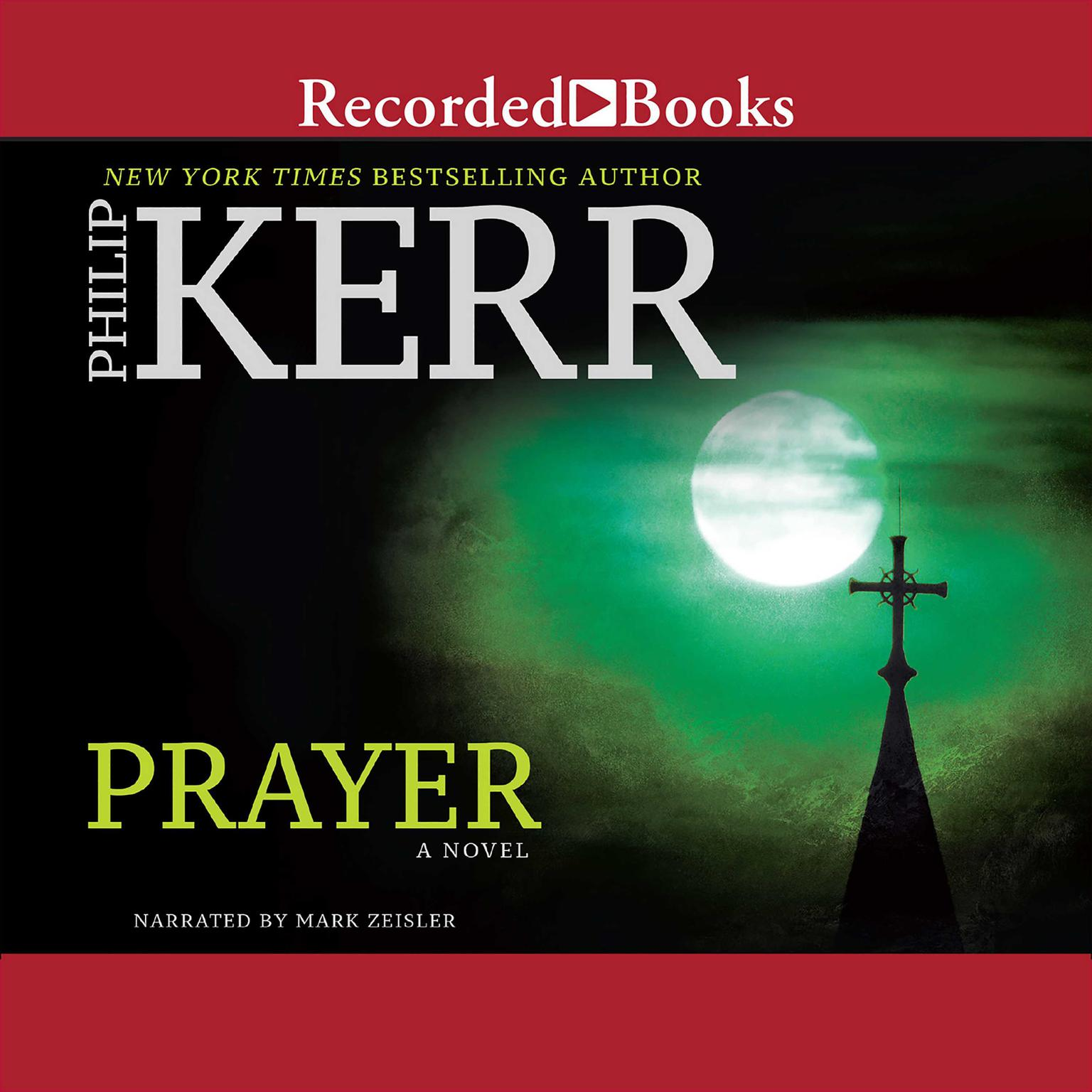 Printable Prayer Audiobook Cover Art