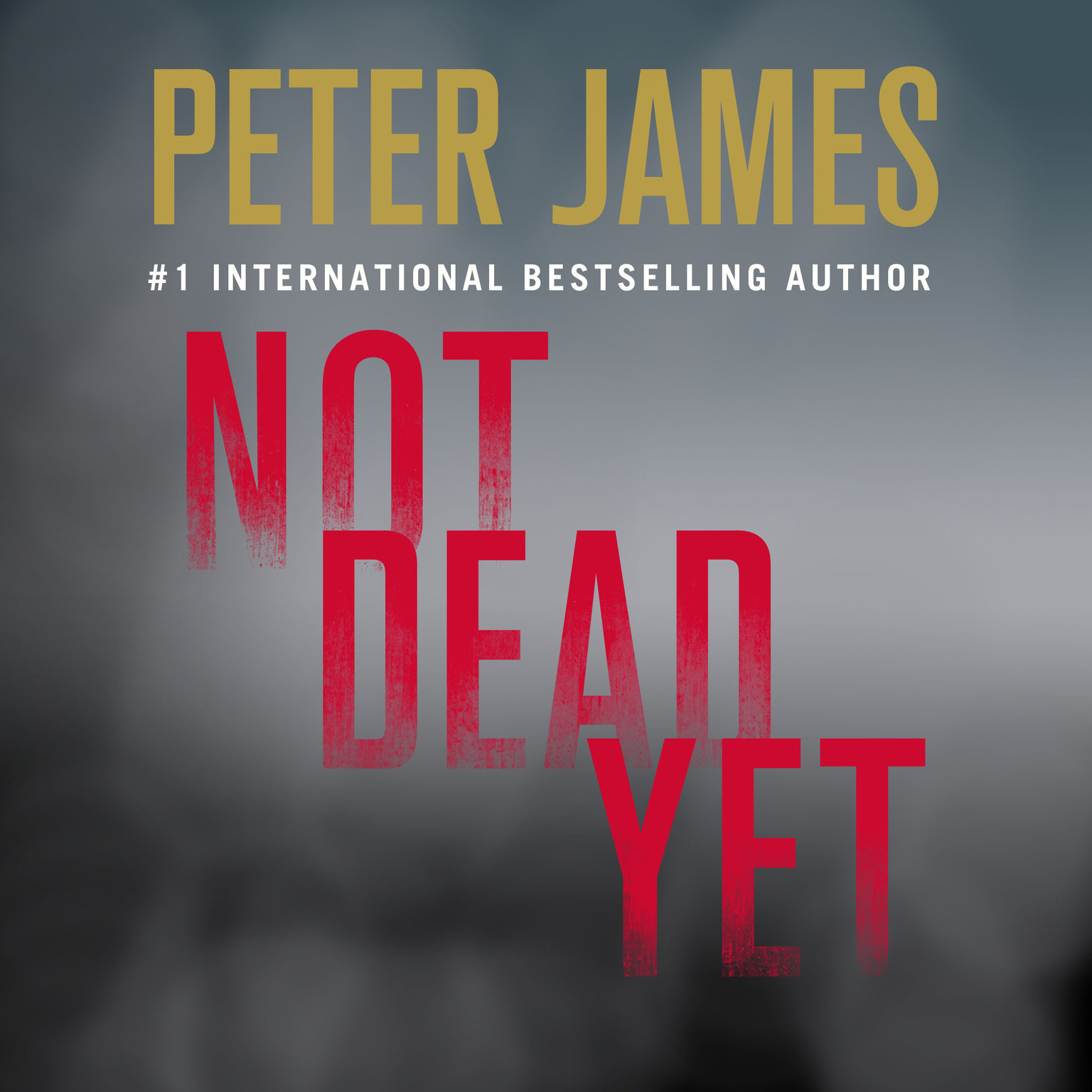 Printable Not Dead Yet Audiobook Cover Art