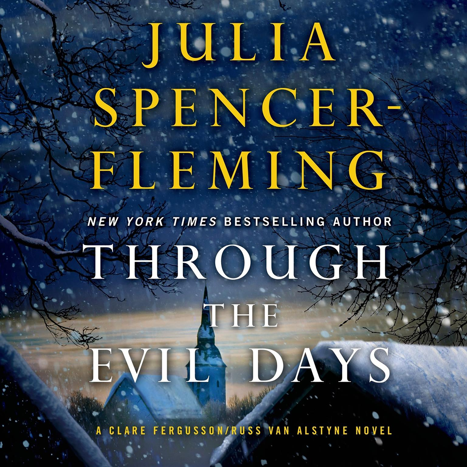 Printable Through the Evil Days: A Clare Fergusson and Russ Van Alstyne Mystery Audiobook Cover Art