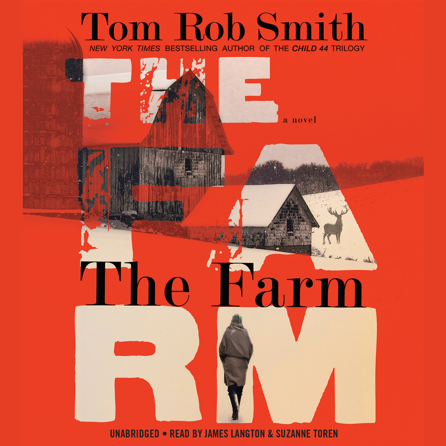 Printable The Farm Audiobook Cover Art